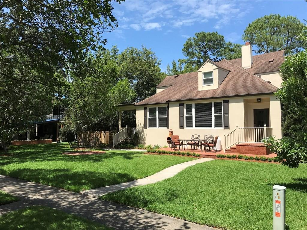 Stunning renovation on sought after Spanish Fort Blvd!  75ft wide lot with new landscaping! Tons of natural light with large windows and a beautiful garden view . Custom Kitchen , Thermador Appliances. Solid Oak flooring, custom millwork and doors. Great Room w/ vaulted ceilings and kitchenette. Custom window treatments. Separate nursery/office. Energy efficient Lennox AC units,  all LED lighting , ceiling fans and Low E windows, sprayfoam. Roof down reno, new everything! Shed included. Owner/Agent.