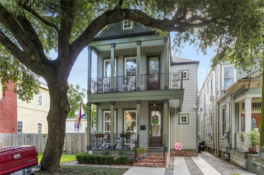 This beautiful Uptown home built in 2016 is ready for move-in! New Orleans style charm with an open floorplan. 4 bedrooms, 2 1/2 baths, huge primary bathroom with soaking tub and separate shower, 2 large walk-in closets in primary bedroom as well as ample storage throughout the home. Walk one block to Martin's Wine Cellar,  a few blocks to St. Charles & the Columns Hotel. Centrally located with easy access to all parts of the city. Off-street parking & a gorgeous newly landscaped yard complete the package!