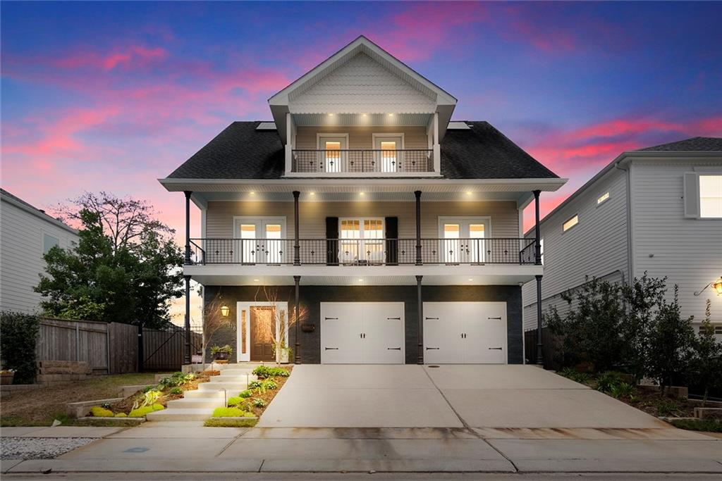 Custom built home in great Metairie location. Home fully remodeled in 2018. So many features including whole house wellness water filter, Electric vehicle charging supply in garage, new HVAC system in 2020, solar panels, whole house generator, 4 zone cable & audio system, HD security cameras, walk in attic spaces, even an elevator! So much in this wonderful modern 4 bed 2 bath (2 half bath home), amazing entertaining open living space & master suite on 2nd floor & 3 large beds on 3rd floor. Don't miss out!