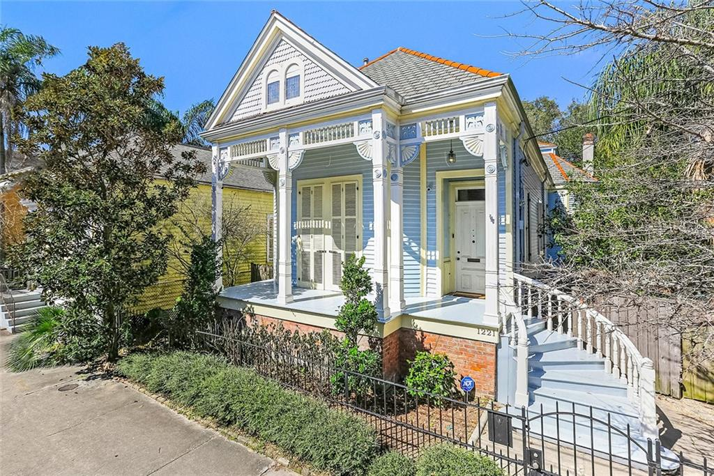 This gorgeous, Architect owned property is located right off Esplanade Ave, just steps from the French Quarter! Beautiful 2-story home incl. 2BR/2BATHS + 2 downstairs living areas- one of which could be used as a 3rd BR. Incredible finishes & features include high ceilings, floor to ceiling windows, stunning hdwd. flrs., spacious kitchen, front & side porches, driveway for 2+cars, giant backyd. with brick patio/detached shed. 2nd story incl. large walk-in closet, laundry room & 1BR/1BA. Truly one of a kind!
