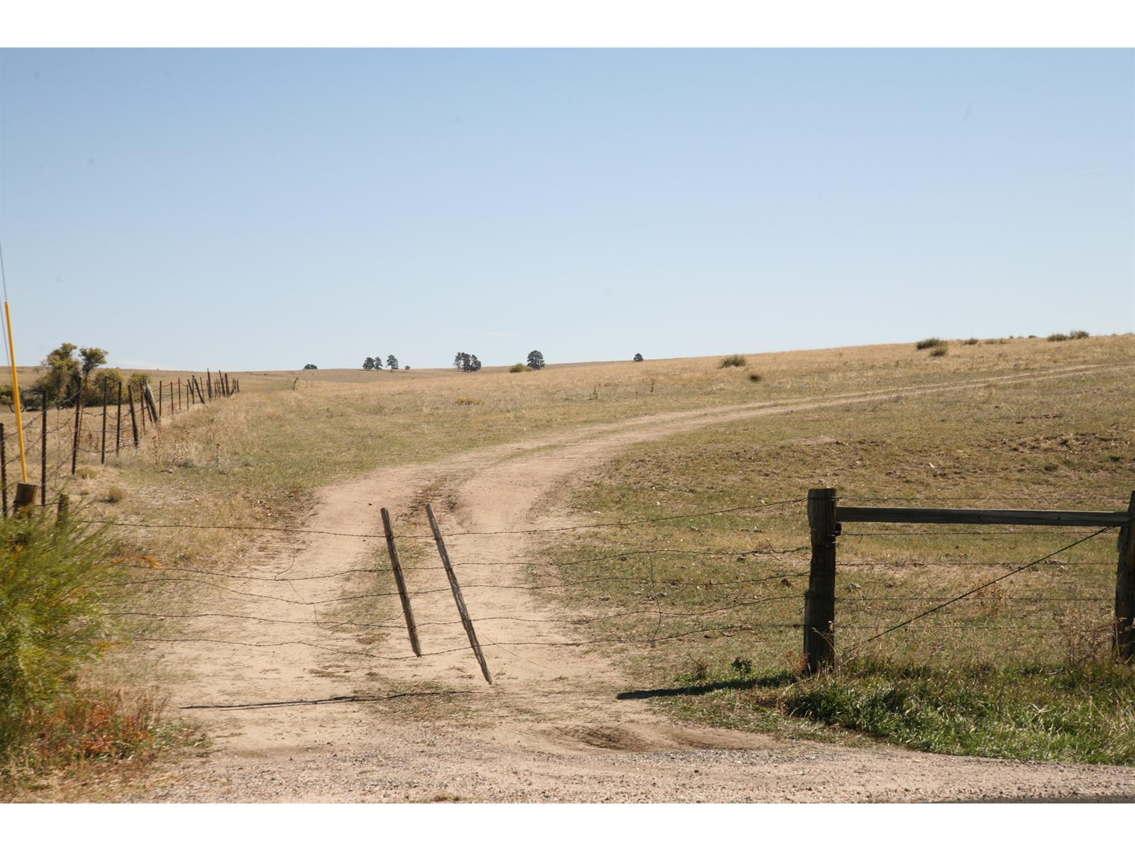This property is part of a 1375 acre ranch made up of 10 contiguous parcels ranging from 60-242 acres. Most parcels available separately. Property is just North and NE of Kiowa limits.  Variable frontage off HWY 86, HWY 45 and CR134.