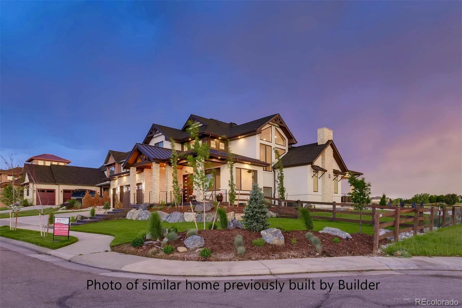Photo of home previously built by Flatiron Development & Custom Homes