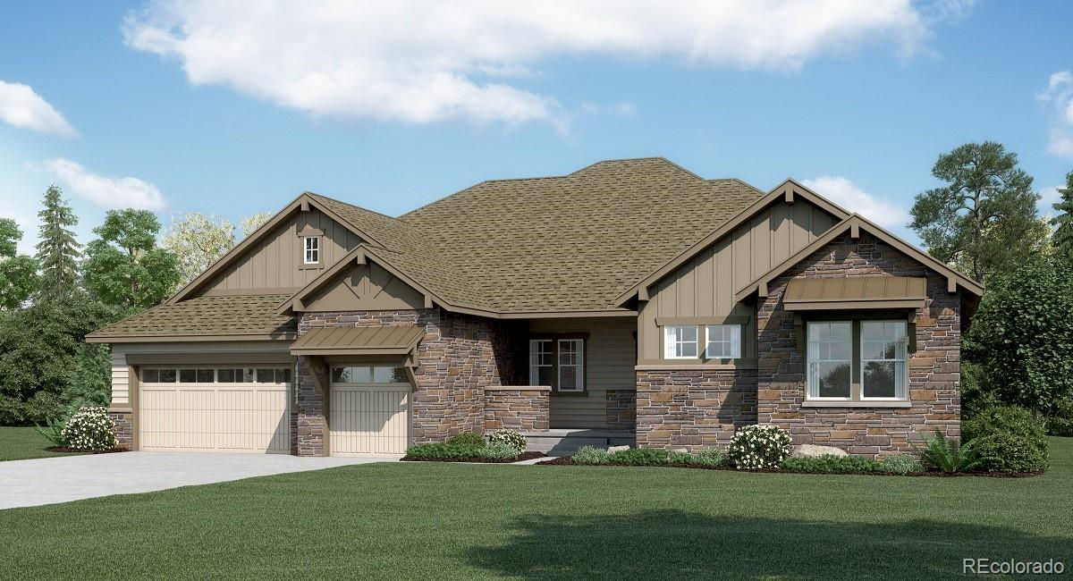 Available June 2020! Beautiful Tolan ranch home features 3 beds, 3.5 baths, kitchen, great room and unfinished basement for future expansion . This home features 2 large secondary bedroom suites perfect for next gen living! Situated on a large lot and offering a peaceful setting, this home lives large. Colorado living at its finest! This amazing home thoughtfully combines both elegance and luxury, welcome home!