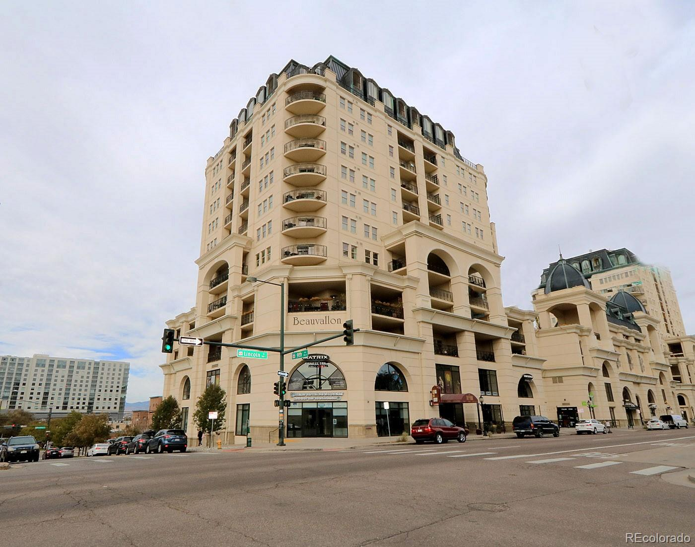 Pride of ownership shows throughout this spacious corner unit with two large  private balconies.  There is new high quality wood flooring in the entryway, kitchen, living room and dining areas.  Both bedrooms have new carpets and  ample closet space.  The master bath has dual sinks, granite counter top, tile flooring and a jetted tub with shower.  There are custom window coverings in the master and living areas.  The kitchen is stylish with granite counters, new stainless appliances and an upgraded fridge with a programmable water dispenser.  Seller installed a new Honeywell T-5 Thermostat which can be controlled from your phone.  This luxury building has seasonal pool, year round hot tub, grills, garden and dining areas on the 5th floor.  Parking G-1 #164, Storage G2 #187, Bike G-1 storage.Please check in with concierge for lock box for Unit 9 I S.  Must present business card.  Fob will work for elevator and garage entrance.