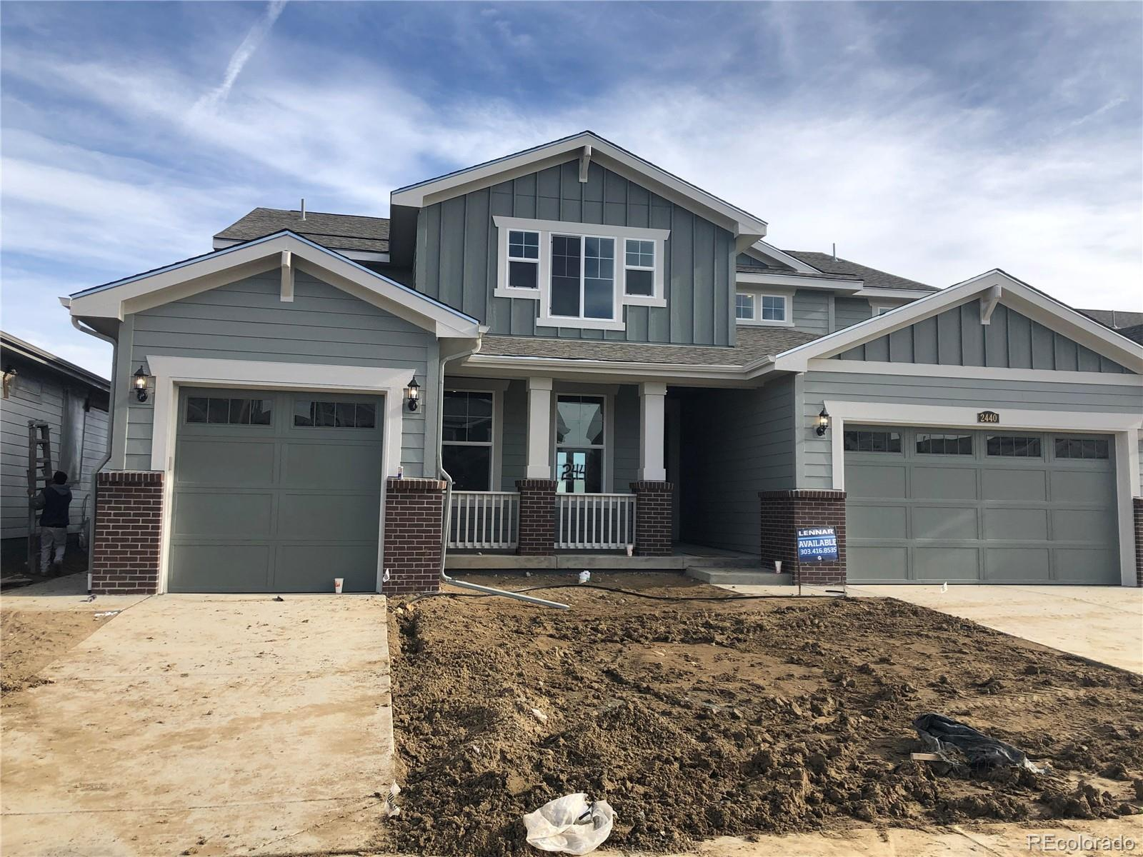 Available in  February 2020! Colorado living at its finest! This stunning Superhome in the brand new Provenance community features a total of 6 beds & 4.5 baths - 5 beds/3.5 baths in the main home along with a great room, nook, spacious kitchen,  large loft AND 1 bed, 1 bath, kitchenette and retreat in the secondary suite.   Adjacent to open space. Covered deck, extended hardwood, upgraded carpet and tile.Separate entrances and garages for each along with access from the main home to the secondary suite. An open basement is waiting for future expansion. Conveniently located close to shopping, dining, entertainment, transportation and acres of parks/trails and other great outdoor opportunities. Easy commute to Downtown Denver, Boulder, Golden and beyond. Don't wait - this home will sell quickly. Lives large and luxurious.