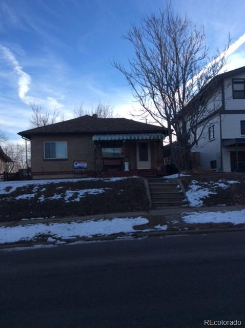 This home sits on a double lot and is sold as-is.  Purchase as an investment property or build new. Needs updating. Close to dining, shopping, entertainment and other amenities. Great neighborhood.  Walking distance to Rocky Mountain Lake & Park.  Don't miss your opportunity.
