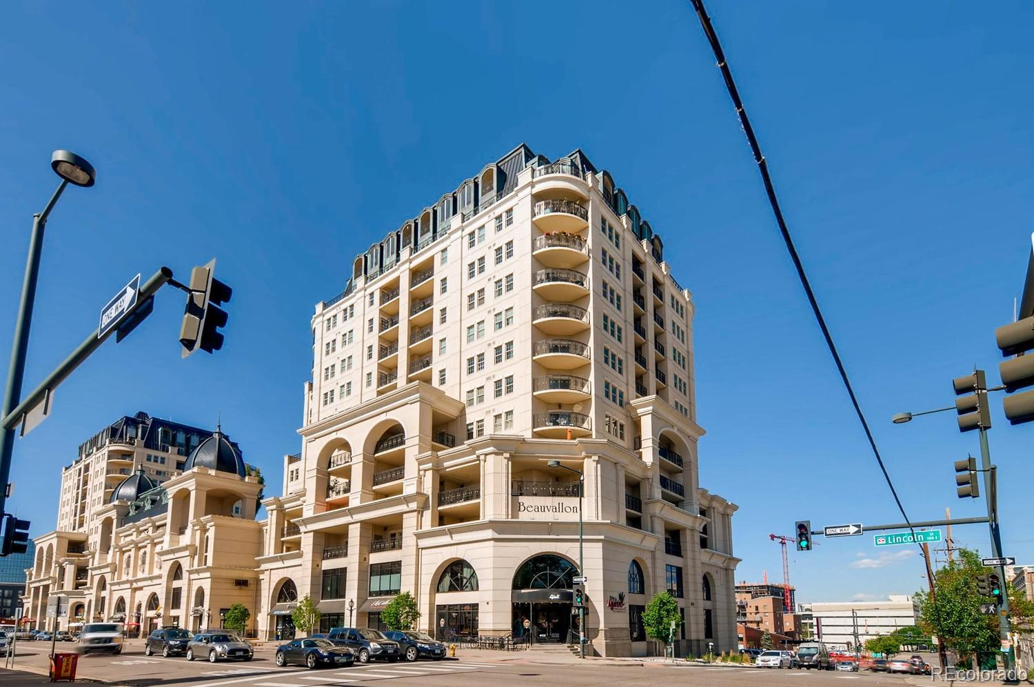 """Stunning unobstructed western views abound from this large, light filled, 11th floor, 1-bedroom/1-bath Beauvallon home*oversized kitchen w/ upgraded cabinets, 42"""" uppers, side-by-side refrigerator, cooktop, oven, slab granite counters w/ matching backsplash, and recessed lighting*spacious bathroom w/ lots of storage, granite counters, and deep jetted soaking tub*sun bathed bedroom w/ two nicely sized closets*private balcony w/ mesmerizing western and city views*in home laundry*loads of storage*in ceiling sound*underground deeded parking*separate storage located in building*pool/hot tub/retail in community*easy walk to restaurants*"""