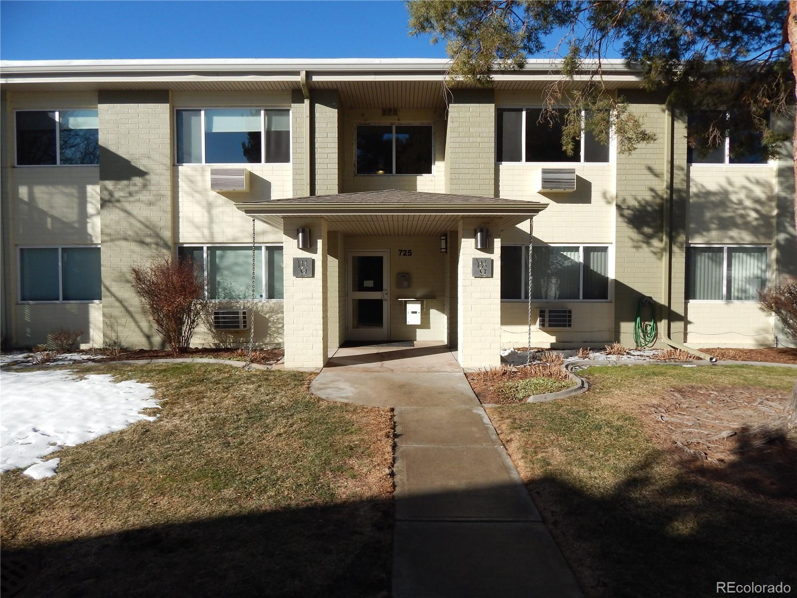 Updated home at Windsor Gardens. This is a 55+ community with lots of amenities. HOA cover taxes, heating, exterior maintenance, water, trash and snow removal, insurance and a beautiful clubhouse. Community includes lots of activities including hot tub, outdoor swimming pool, gym and many more. Nine hole golf course in the complex and the high line canal is adjacent to the property. Unit includes a detached garage. Any questions please contact listing agent.