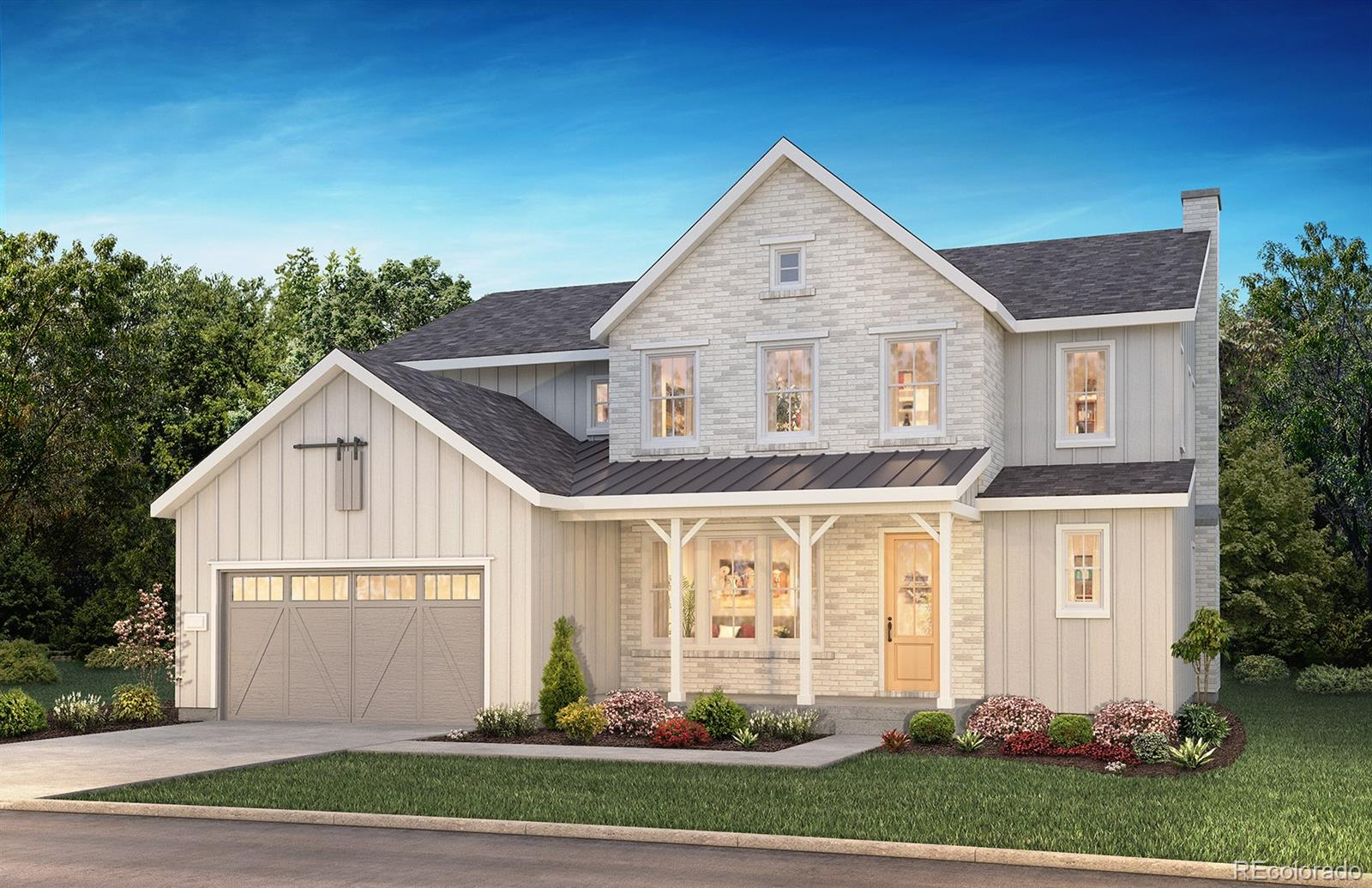 """Available April/May 2020! This stunning Stratton 2-story in The Canyons has it all.  Colorado living at its finest.  This gorgeous home features 6 beds (3 up / 1 main / 2 bsmt), 5.5 baths, main floor study, gourmet kitchen, great room, finished walk-out basement, 3 car (2 + 1 tandem) garage and so much more.  Beautiful upgrades and finishes throughout.  Finished basement with two bedrooms, full bath and media/rec room; 36"""" GE Cafe stainless steel gas appliances with French door refrigerator and Monogram beverage refrigerator; Aristokraft Brellin Purestyle White kitchen perimeter cabinetry; Aristokraft Winstead Maple Flagstone remaining home cabinetry;  Great room with full height Gray Oak stacked stone fireplace with mantel and multi-side door; Barn door at study and optional door at master bathroom; Large laundry room with sink and craftsman stair rails with iron balusters; Shaw Supino HDPllus Giardino wood-style laminate floors; Concerto engineered stone kitchen counters with full backsplash; Della Terra Denali counters at the kitchen island and master bath; Framed mirrors at the master and powder baths; Large loft on second level and a covered private master deck. This stunning home thoughtfully combines elegance and luxury. Don't miss your opportunity. Welcome Home!"""