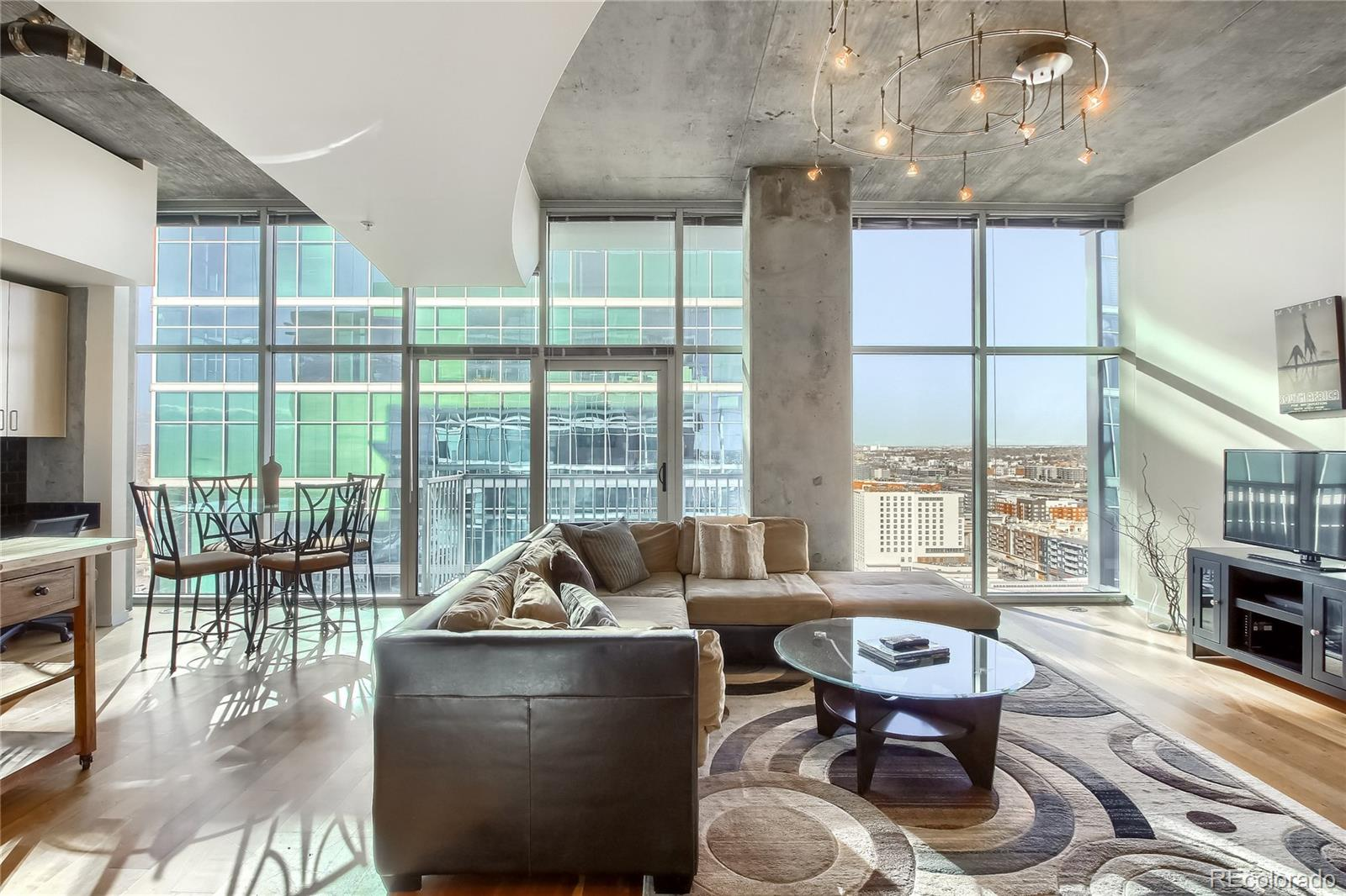 Simply the best one bedroom floor plan in the entire building. Welcome to your 21st-floor Riverfront Park Penthouse in Denver's best condo development. 