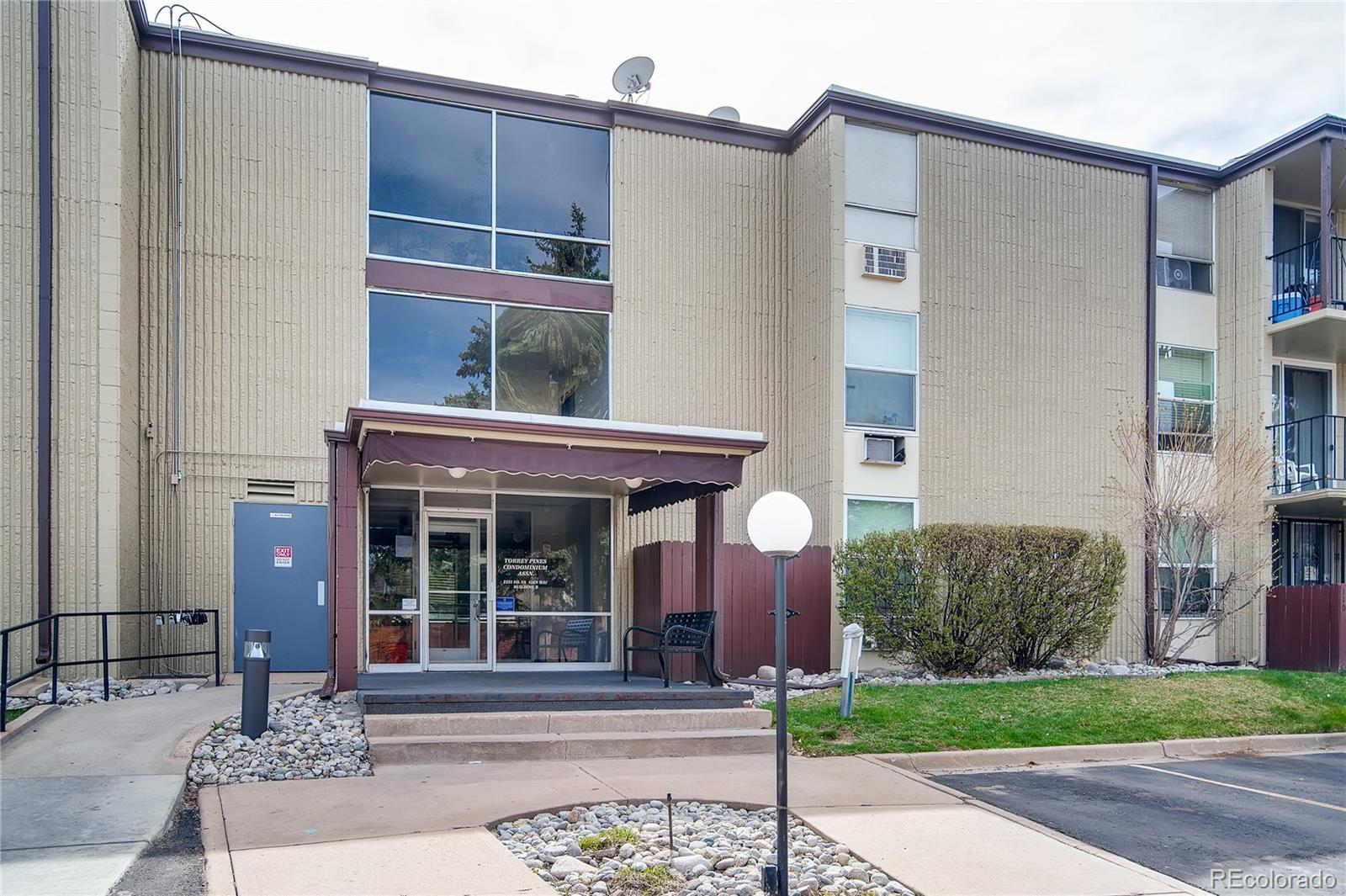 Affordable and centrally located condo in the Cherry Creek school district.  Can be investment property as well. Long term rentals allowed. 2 bedrooms, 2 baths.  Ceiling fan in 2nd  bedroom room. Balcony faces west, so you get to gaze at Colorado's beautiful sunsets. Refrigerator is 7 months old.  Kitchen was remodeled in 2013. HEAT IS INCLUDED IN THE HOA! One pet per unit is allowed, medium size. This property will be part of a 1031 Exchange with no detriment to the buyer. Parking is accessible and close to the unit.  Entry closest to Iliff gives you quick access up the stairs to the unit.  Common grounds with pool and picnic area offer a great area for summer relaxation. Two months prepaid HOA dues are collected at closing.  Exclusive showings allowed only. . Please be mindful of COVID 19. If anyone in your party is having cold or flu-like symptoms, or has been around anyone with cold or flu-like symptoms, please do not visit at this time.