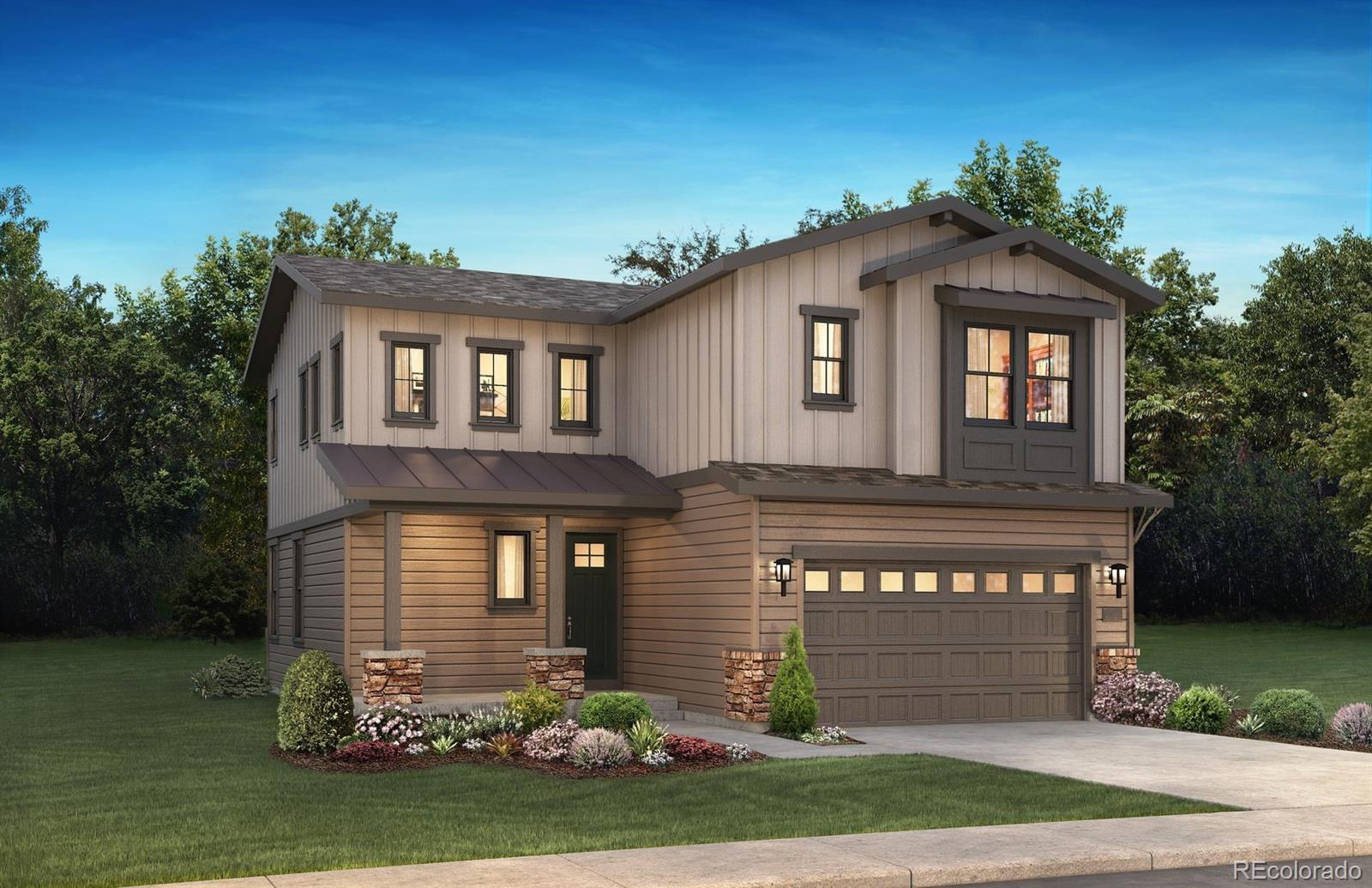 Available August/September 2020 - Beautiful Destiny 2-story in the brand new Solstice community. This stunning home is an open concept floorplan and features 3 beds, 2.5 baths, great room, dining room, kitchen, unfinished basement and 2 car garage.  Stunning design finishes and upgrades throughout including large kitchen with island & walk-in pantry, GE Profile stainless steel appliances, Yorktowne Henning Earl Grey cabinetry, Pental Cotton White engineered kitchen perimeter & master bath counters, Montclair White engineered stone kitchen island counter, Shaw Supino Calcare wood-style laminate floors;  Barn door at master bath & laundry; spacious loft; great room with cosmo fireplace, 2x10 Castle Brick Grey tile fireplace surround with mantel; tile floors in the baths & laundry room; covered front porch and patio. Energy Star Certified. This stunning home thoughtfully combines elegance and luxury and energy efficiency. Don't miss your opportunity. Welcome Home!