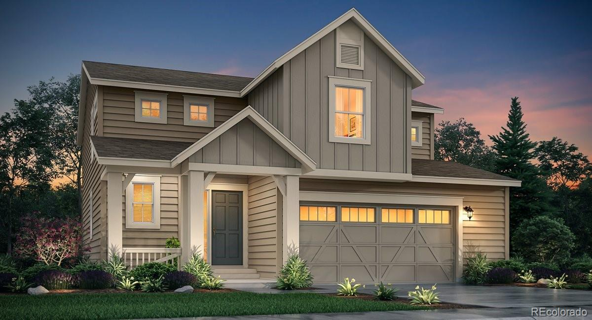 Available September 2020! The beautiful new Evans 2-story features, 4 beds, 2.5 baths, laundry, great room, kitchen, dining room, unfinished basement for your future expansion, 2 car garage and more. Located on a cul-de-sac  and backing to open space.  Beautiful finishes and upgrades throughout.   Lennar provides the latest in energy efficiency and state of the art technology with several fabulous floorplans to choose from. Energy efficiency, and technology/connectivity seamlessly blended with luxury to make your new house a home. Barefoot Lakes offers single family homes for every lifestyle. Close to dining, shopping, entertainment and other amenities. This community features extensive trails, wide open spaces, and twin sapphire lakes all set against backgrounds of deep blue skies and Colorado's breathtaking sunsets!
