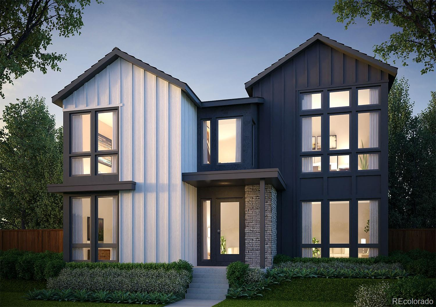 Ready in August!  The stunning Vive 1 by Infinity Home Collection.  Modern, open concept plan with 4 bedrooms, 3.5 baths, office, loft, and covered patio with privacy wall.  Family room fireplace, 16ft stacking glass corner door at dining room, nearly 8 X 8 kitchen island, and generous kitchen pantry.  Upstairs you'll find a true master suite with two walk-in closets, an enormous luxury shower with multiple shower heads, and 6ft soaking tub.  Luxury finishes throughout, on a west facing alley-corner lot near future parks and school.  Under construction, ready in August.