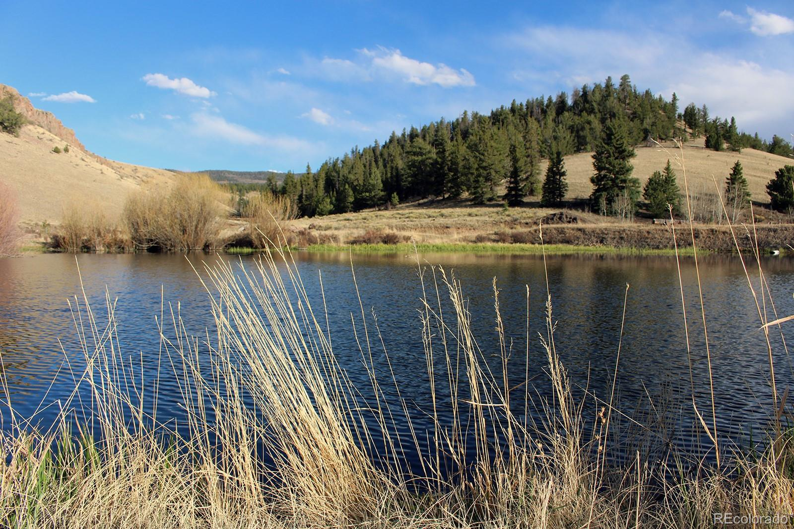 Surrounded by BLM and Forest Service, this 160 acre getaway mountain property is located just west of Saguache and just 1 hour from the Gunnison Airport. Deeded water rights, year round stream, 4 ponds, and a hand-built cabin certify this as a rare gem in the Colorado market. Currently used as a horse/hunting property with portable loafing pens, round training pen and arena space already in place. The unique trail system through the property allows access for hiking, mountain biking, horse riding and four wheeling through rocky cliffs, open grasslands, ponderosa forests and bird filled wetlands. Ruins from the original homesteader cabin provide a glimpse into the history of this abundant land and show that the new cabin is situated perfectly, protected by stunning canyon walls and rocky outcroppings, while still providing an open view in three directions. The well built cabin can sleep 4 comfortably with a clear view of the ponds from the front porch. The cabin is well insulated and appointed with solar panels, generator and a 500 gallon propane tank, septic and domestic well. A well planned kitchen area and full bathroom with shower make this the perfect remote getaway property.  A camouflaged container on site is designed for storage of tools and vehicles for instant use.. Abundant with wildlife including elk, deer, turkey, bear, mountain lion, antelope and even an occasional moose. A remarkable and valuable opportunity for a discriminating buyer.