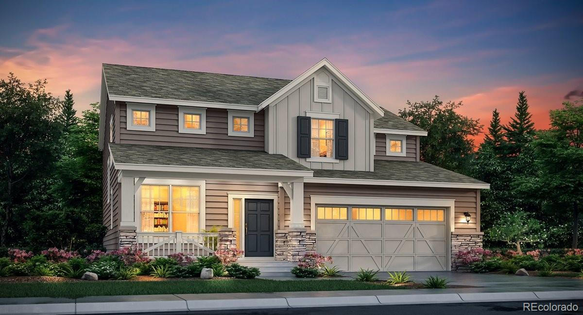 One of the largest homesites available at Gold Creek! Enjoy an oversized 81 ft. deep backyard, cul-de-sac location, West facing driveway, the perfect location! Two story features a 12x19 covered deck, full-unfinished basement, 3 car garage plus an extra bump out for storage, main level study, spacious kitchen, 9 ft. ceilings throughout plus 8 ft. doors on main level, four bedrooms with large laundry located on upper level. Granite countertops, full height kitchen backsplash, all SS appliances included, vinyl flooring throughout main level. Home features privacy blinds in all bedrooms and bathrooms, A/C, garage door openers, LED lighting throughout, and front yard landscaping, SO much more! Come tour today! Estimated completion October/November 2020.