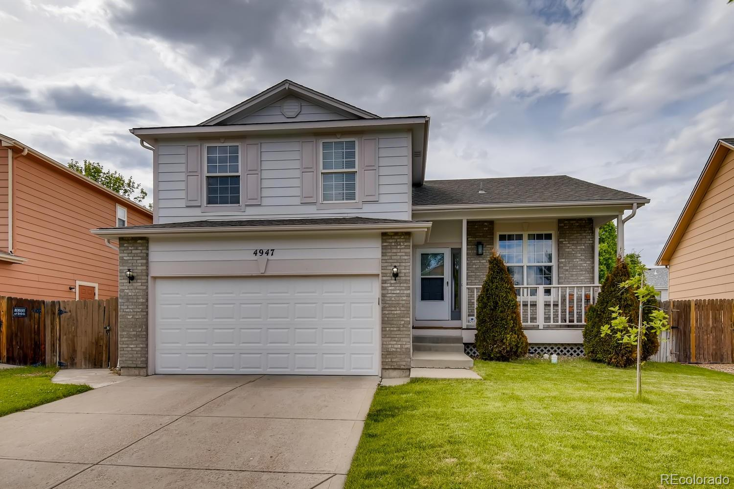 Welcoming from the moment you arrive.  This lovely split level in Gateway Village features 4 beds (3 up / 1 bsmt), 3.5 baths, living and family rooms, kitchen, finished basement and 2 car attached garage.  Pride of ownership shines throughout.  The finished basement is perfect for overnight guests or that teen wanting their own space.  The open floorplan is great for entertaining.  Enjoy relaxing on the back patio in the spacious backyard or people watching from the covered from porch/deck.  Neutral tones make it easy to picture yourself calling in this one home.  The central air and energy efficient furnace keep this home comfortable all year long.  Close to dining, shopping, entertainment and other amenities.  Don't miss your opportunity. Welcome home!