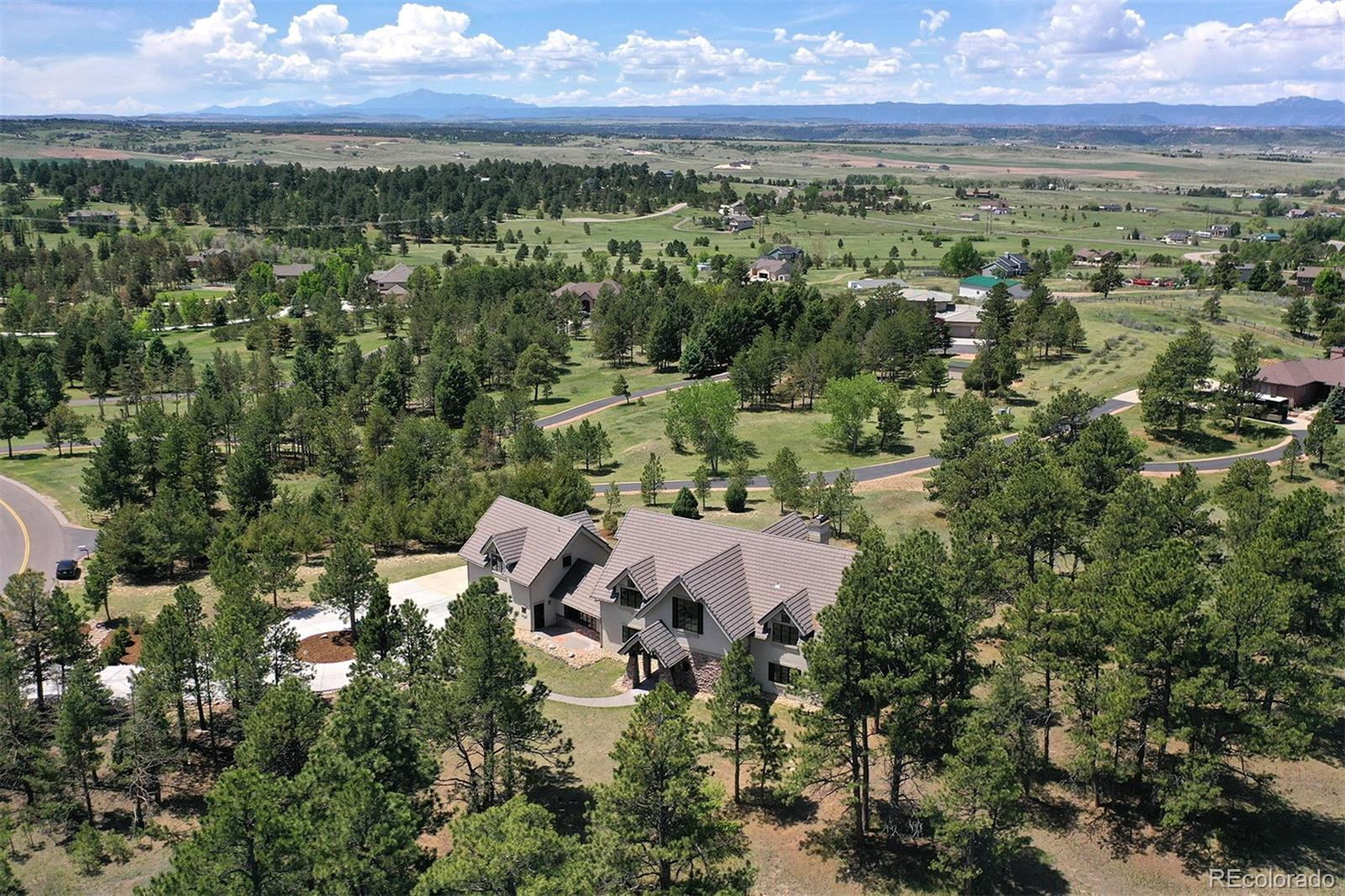 Photo of 4891  Palmer Ridge Drive, Parker, CO 80134