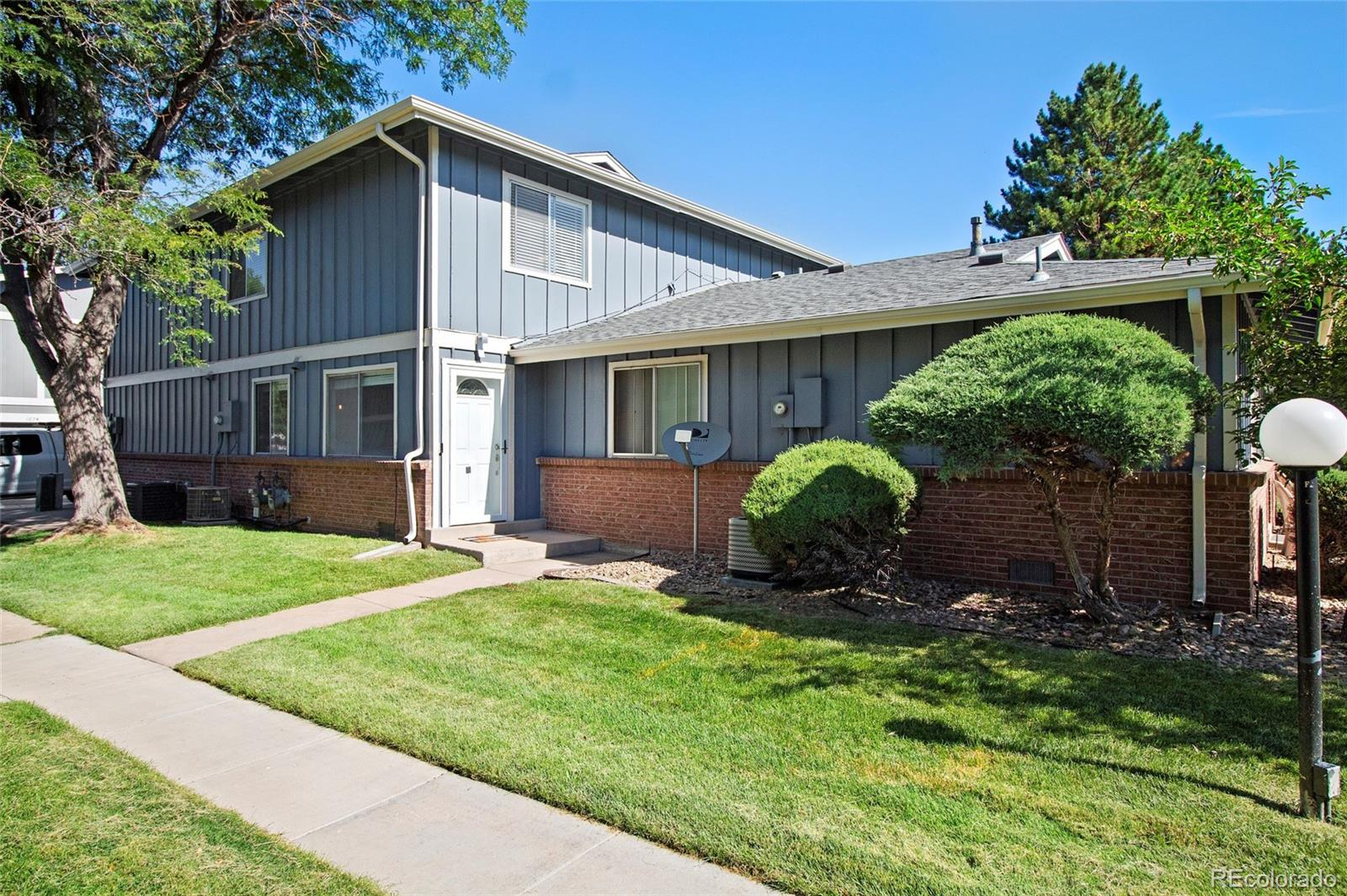 Perfect Starter Home or turnkey rental only 1/2 mile to the Medical Center of Aurora! Was rented Aug 2019-Aug 2020 for $1,500 monthly. Nicely maintained Light & Bright 2-Bedroom 1-Bathroom TownHome. Best Location in Hallcraft's Village East; quiet community with large, grassy open space directly in front of this home, with easy access to 1-225. Your front door opens to an expansive grassy greenbelt with mature trees that feels like it's your own personal backyard/park/oasis. Includes washer, dryer, refrigerator, and attached 1-Car Garage. HOA includes clubhouse, water, sewer, snow removal, trash, building/grounds maintenance, and insurance. Great location close to Medical Center(s). 1 mile or less walking distance to R-Line Light Rail's Florida Station, Utah Park & Indoor Pool, Overland High School and Prairie Middle School. Centrally located, less than 20-miles to Denver Downtown or Denver International Airport, 8-miles to the Denver Tech Center, and only 2-miles to the Town Center at Aurora. ***Check out the 3D virtual Matterport Virtual Tour https://my.matterport.com/show/?m=r3Dae9pR5M4&mls=1***