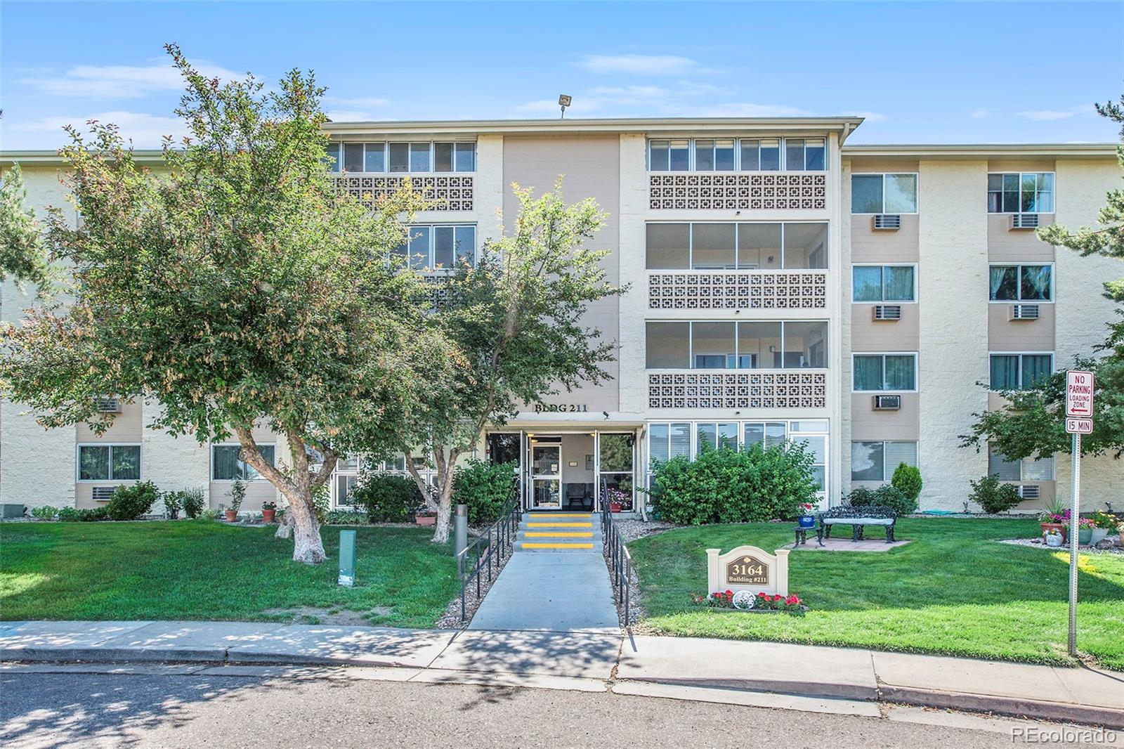 Enjoy a maintenance-free lifestyle in this beautiful condo in a 55+ community located less than a mile from I-225, Nine Mile Light Rail Station, and Cherry Creek Reservoir. This condo has been completely remodeled and features, granite countertops, life proof vinyl flooring, stainless steel appliances, a massive master suite with a spacious walk-in closet. The 2nd bedroom is located off the living room, and is open incase you want to use as a larger living area, or dining room. Heather Gardens offers over 100 various activities, clubs and classes for all residents. Whether it playing a round of golf on the PGA-rated, 9-hole executive gold course, or using their arts & crafts rooms and fully equipped woodshop — this community has something for everyone to enjoy. You won't want to miss this opportunity — call today for a showing!
