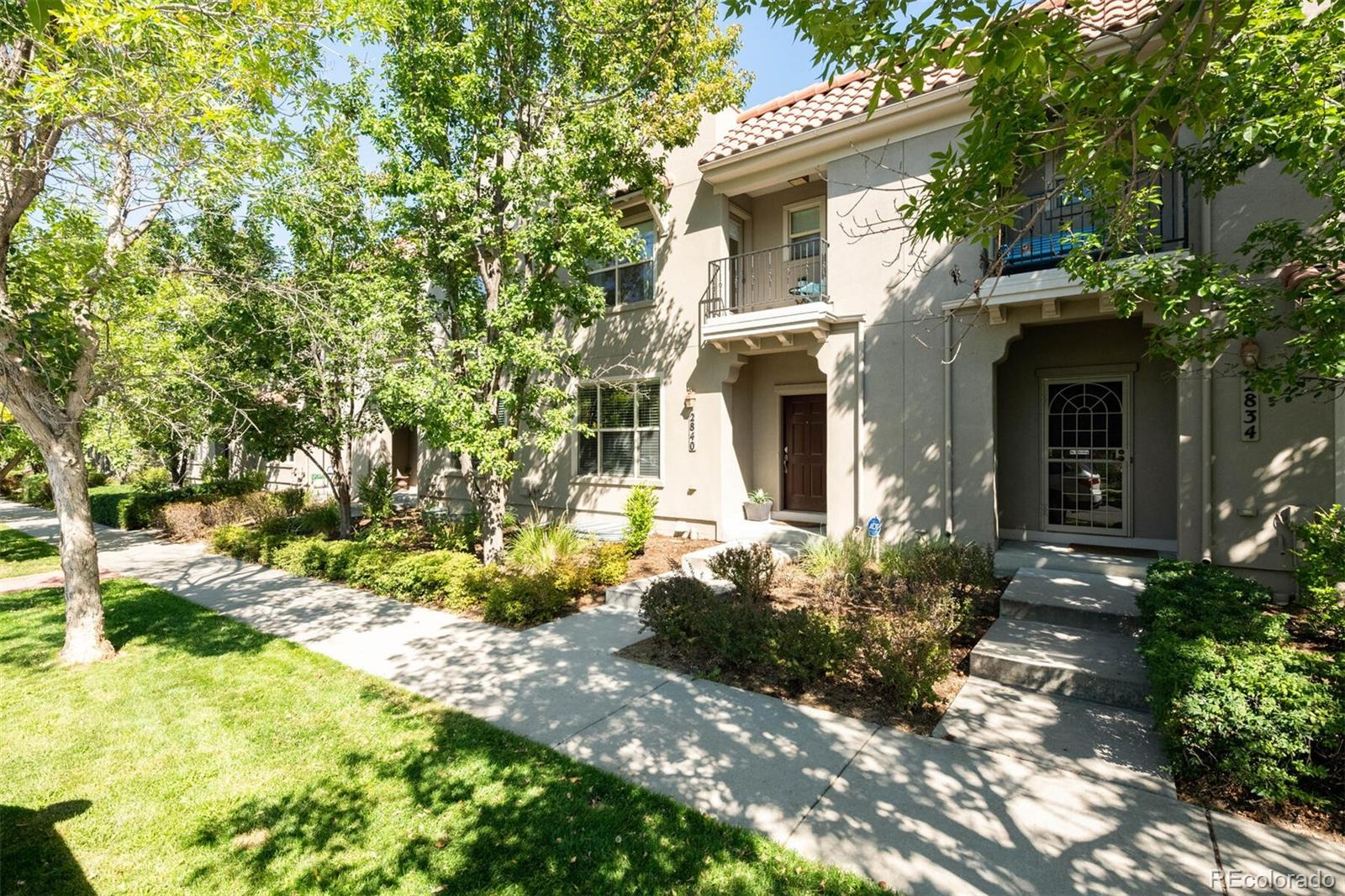 NO SHOWINGS UNTIL FRIDAY, SEPTEMBER 18th! Beautiful townhome near the Central Park (formerly Stapleton) Town Center with restaurants and shops all within walking distance. Truly an unbeatable location. 3 bedrooms upstairs with a 4th bedroom in the basement which serves as a conforming guest suite with a guest bathroom. The kitchen, master bathroom and 2nd floor guest bathroom were remodeled and look amazing. Detached 2-car garage with a private yard and large patio connecting the home to the garage. Master suite has an outdoor balcony for your convenience. This is a gorgeous home that is move-in ready. Schedule your showing today! Don't hesitate!