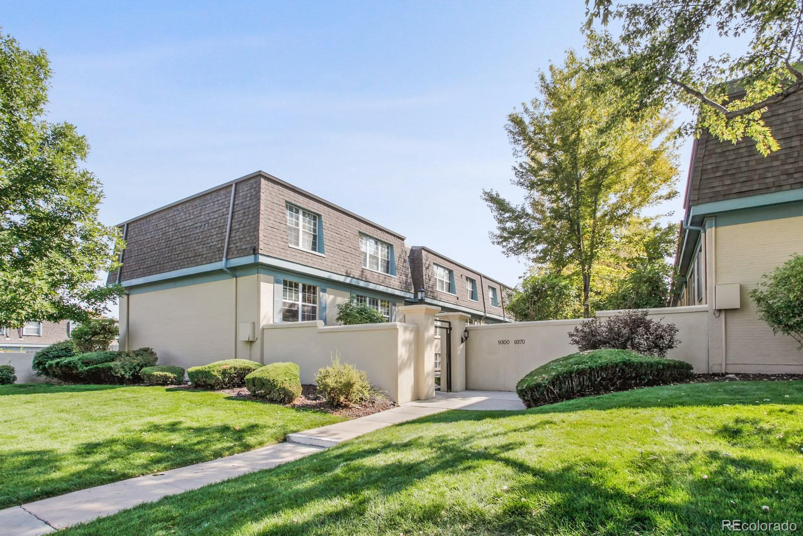 A rare opportunity for a Buyer to acquire this top floor, end-unit condo. One of the few units in Hampden Court with a full-size Washer and Dryer in the unit. This is the larger of the 2-bedroom units in the complex with large bedrooms and remodeled bathrooms. Wood floors in eat-in kitchen and sizeable walk-in storage pantry. Wood burning fireplace in the living room. Newer A/C compressor and water heater. Includes parking space #18 in the gated lot and ample street parking. This is an ideal owner-occupied property or a great investment property due to its superior location situated away from street noise. Close to I-25, I-225, RTD and Dayton light rail station makes the DTC and Denver metro easily accessible. Located near restaurants, Whole Foods, Target, King Soopers, Cherry Creek State Park, and biking and walking trails. HOA includes insurance, trash, sewer, water, snow removal, clubhouse/pool/hot tub and up-keep of common areas. All appliances included. Buyer to verify measurements and HOA information.