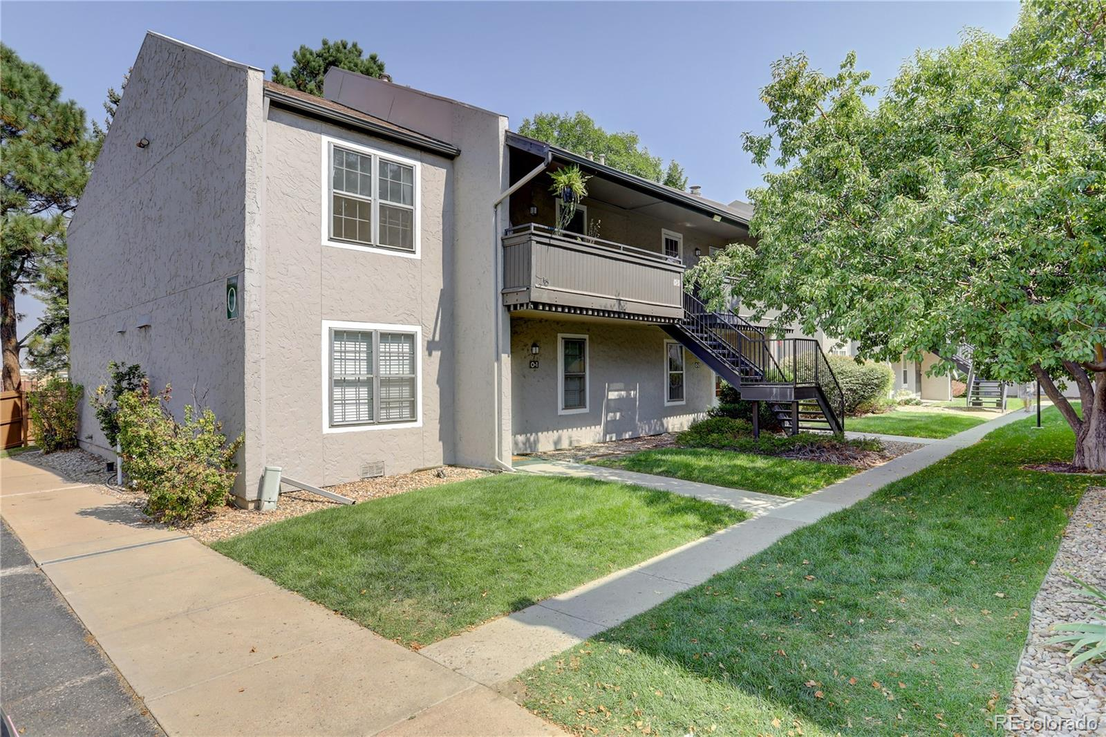 Don't miss out on this cute and cozy move-in ready condo in Centennial's desirable Streets of Southglenn neighborhood. There is plenty of space in this rare two bedroom, two bath home surrounded by beautiful shade trees and in the perfect location. Updated flooring, lighting and designer paint are ready for you. Balconies are located on the front and back of the unit to enjoy the outdoors. Onsite amenities include a pool, sauna and fitness center. Cherry Knolls and DeKoevend parks are nearby, great for a stroll and biking. The home includes one covered parking spot and plenty of open parking available for that second vehicle and a bonus storage unit for bikes or extras. Close distance to restaurants and shopping!