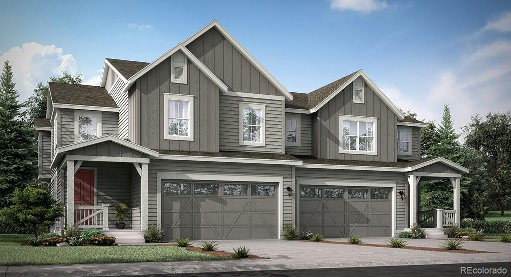 Available February 2021!  Brand new paired homes in Buffalo Highlands.  This gorgeous Plateau 2 story model features 3 beds, 2.5 baths, great room, open kitchen, upstairs laundry and 2 car garage. Beautiful upgrades and finishes throughout. Buffalo Highlands is a new Lennar community providing the best of Colorado living with all the latest technology.  Lennar provides the latest in energy efficiency & state of the art technology with several fabulous floorplans to choose from.  Energy efficiency, and technology/connectivity seamlessly blended with luxury to make your new house a home.  What some builders consider high-end upgrades, Lennar makes a standard inclusion – over $35,000 value. You will not be disappointed. This community offers single family homes for every lifestyle.  Close to dining, shopping, entertainment and other amenities. Easy commute to DIA, E-470, Downtown Denver, Golden, Boulder & beyond.  Don't wait – this community will sell out quickly!