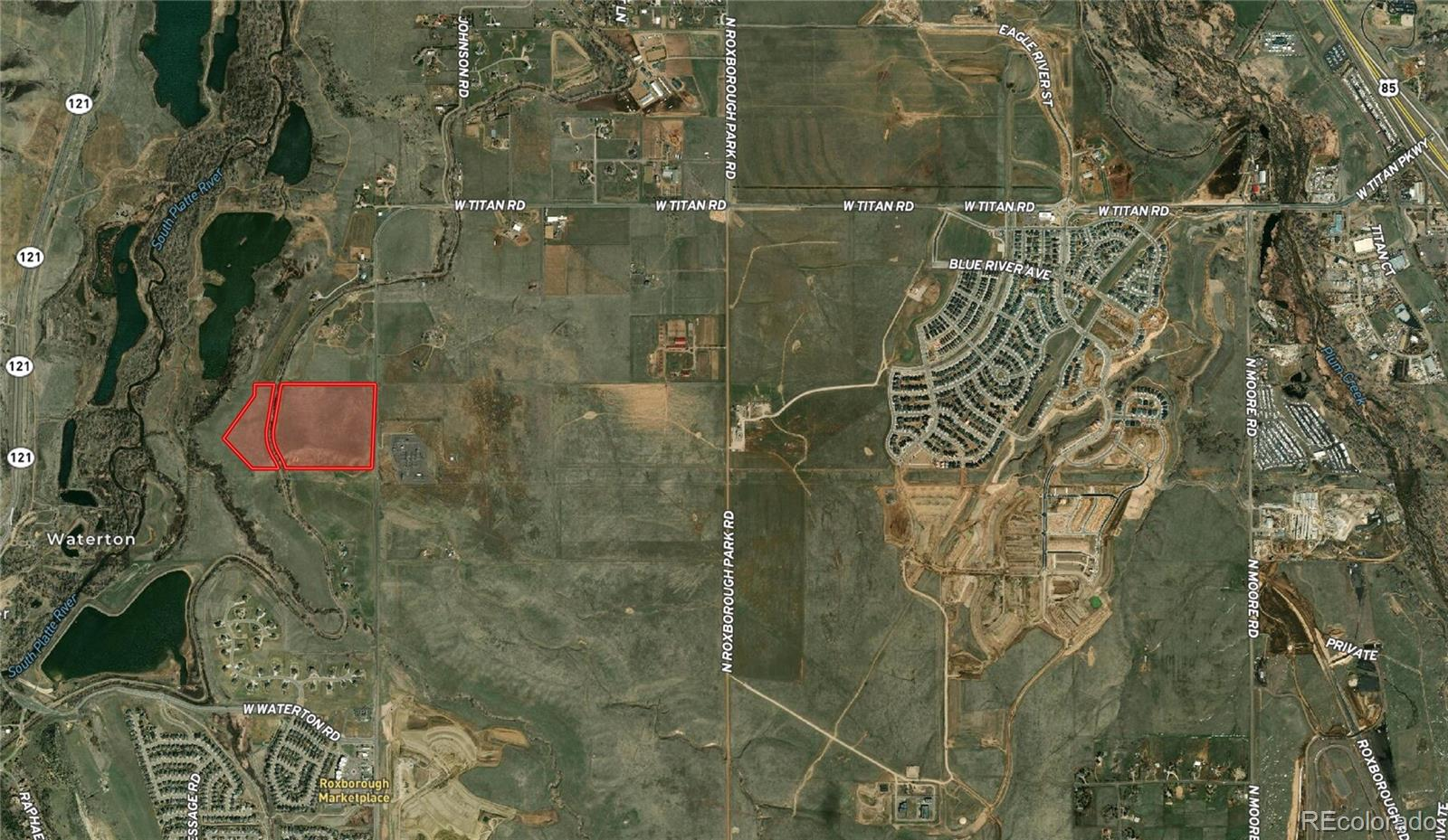 Residential development land requiring entitlements and utilities. Douglas county R0363110 and R0363112. Please contact Broker for most up to date improvements and property tax information.