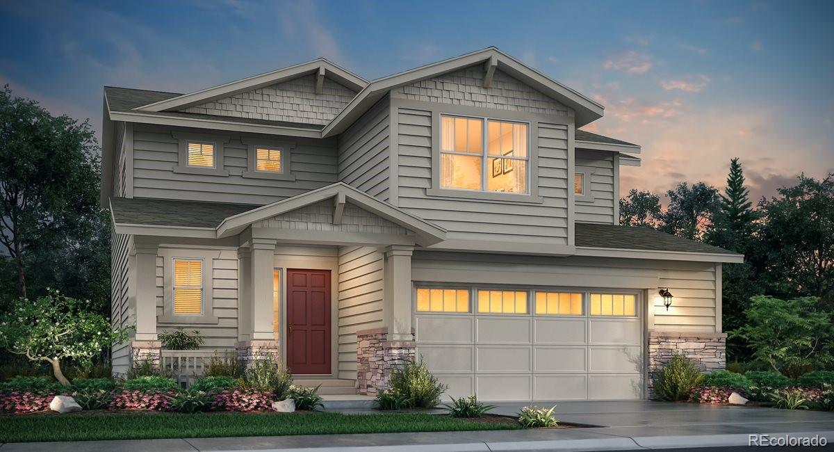 Available May 2021! The beautiful new Evans 2-story features, 3 beds, 2.5 baths, loft, laundry, great room, kitchen, dining room, unfinished basement for your future expansion, 3 car garage and more. Gorgeous design finishes and upgr Hurry - price increases on Monday, November 16th.