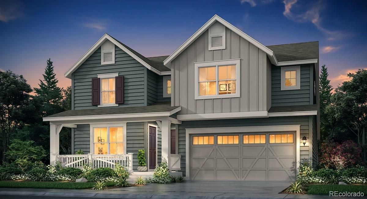 Anticipated completion May 2021! This stunning new Chelton 2-story features, 4 beds (3 main home and 1 next gen), 4 baths (3 main home & 1 next gen),  laundry (both main & nextgen), living room (nextgen), great room (main home), kitchen (both main home & nextgen), unfinished basement for your future expansion, 4 car garage, covered rear deck and more. Gorgeous finishes and upgrades throughout. Lennar provides the latest in energy efficiency and state of the art technology with several fabulous floorplans to choose from. Energy efficiency, and technology/connectivity seamlessly blended with luxury to make your new house a home. Barefoot Lakes offers single family homes for every lifestyle. Close to dining, shopping, entertainment and other amenities. This community features extensive trails, wide open spaces, and twin sapphire lakes all set against backgrounds of deep blue skies and Colorado's breathtaking sunsets!