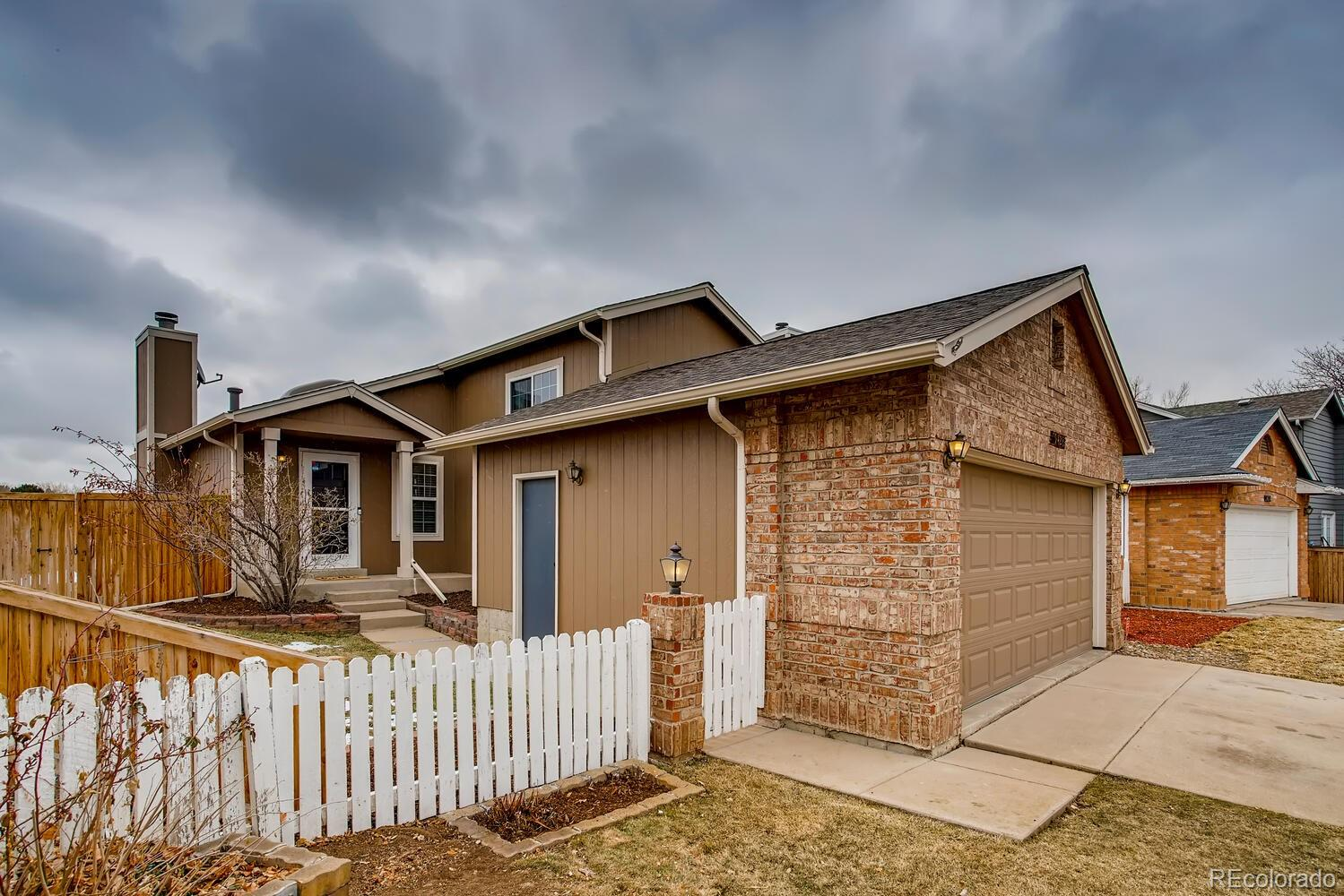 Don't miss the opportunity to own the best Highlands Ranch has to offer in this price point! This charming home backs to open space and has beautiful, unobstructed million-dollar views from the two level outdoor deck (refinished 2020). Tucked away on a quiet street, yet conveniently located to everything Highlands Ranch has to offer (restaurants, shopping, C470 for easy commute to DTC and Santa Fe for easy commute to Denver). This home is owned by an interior designer and it shows; beautifully maintained, updated and the definition of a turnkey home purchase. New/newer HVAC (2015, serviced/certified 2020), hot water heater (2019), outdoor fence (2018), washer/dryer (2018), appliances (2017), roof (2016), sump pump (2020), carpet (2020), Ring doorbell and security cameras (2018), Rachio smart home sprinkler system (2017), exterior paint (2016), and interior paint (2020). DOWNSTAIRS FAMILY ROOM COULD BE CONVERTED TO A THIRD BEDROOM. Bath lovers will also rejoice at the oversized soaker jacuzzi tub in the en-suite master bath. This home is walking distance from a highly rated public elementary school (Bear Canyon) and the trail system in Highlands Ranch is unparalleled for the outdoor enthusiast looking to get out exploring in their own backyard. This home is truly Colorado living at its finest for under $420,000! Showings will end Sunday 1/10 at 6pm.