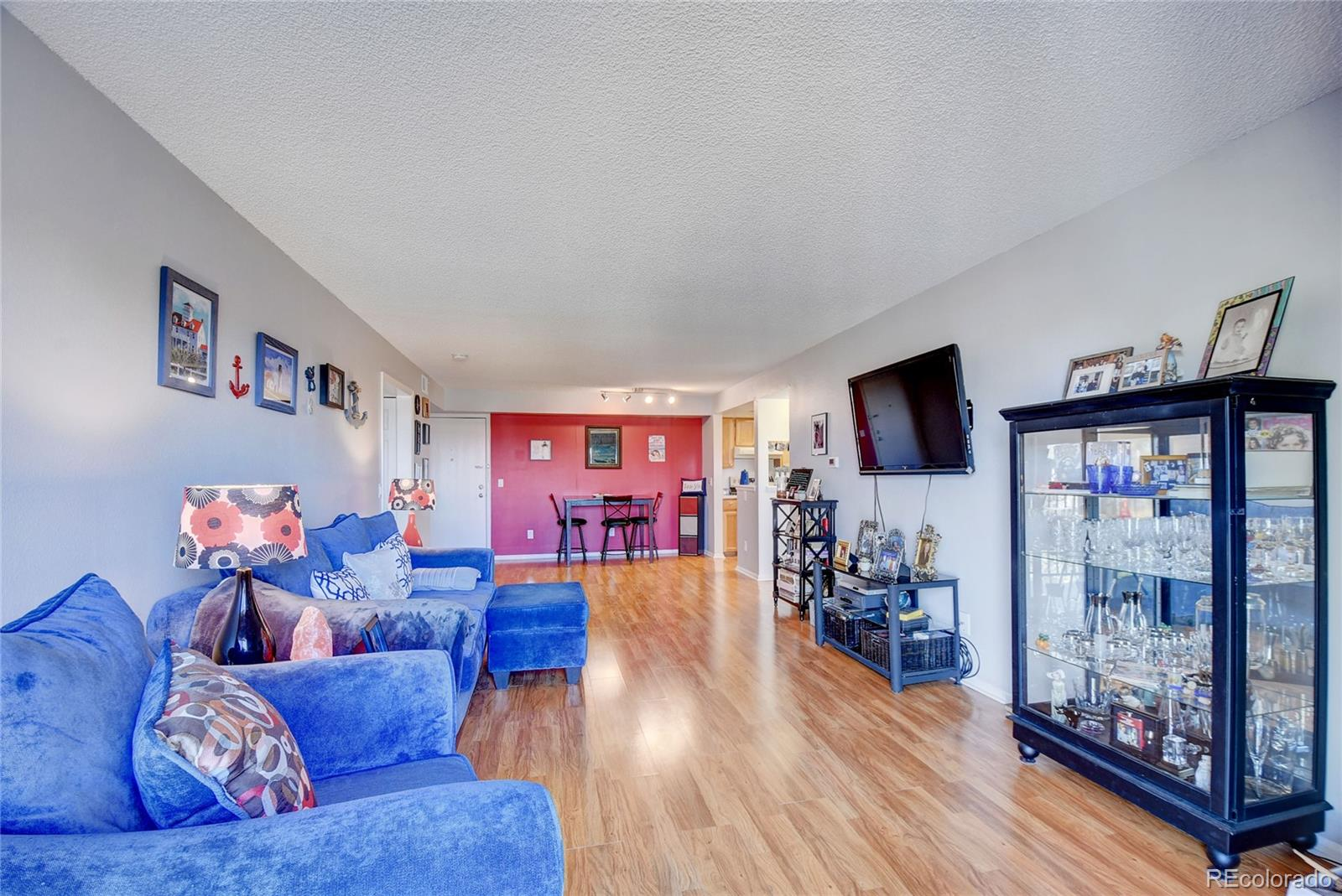 NO SHOWINGS M-F!!      SAT 10AM TO 4PM and SUN 11AM TO 3PM ONLY.  This one will NOT last long!  Updated 2nd Floor Condo Unit rarely becomes available in this Bayberry Community!  Lots of updates; newly-painted with newer carpet and floors in entire unit.  2 bedrooms (large master with spacious walk-in closet plus 2nd bedroom) with fireplace and in-unit laundry.  It has sliding doors to the patio, with beautiful mountain views!  Very clean and well maintained!  Secure entrance and secure heated garage w/dedicated parking spot, elevator, and locked storage area. Plenty of parking of guests. The whole complex has been updated, new asphalt in parking lot, carpet and lighting throughout building.  Community amenities include community pool, tennis courts and volleyball court, parks, lots of areas for pets and children. Close RTD light rail options. Easy access to Denver, DTC, DIA, Highways, Buckley Air Force Base (AFB), Aurora Government offices, AND In-N-Out Burger!  It is also close to Highline Canal for walking, jogging & biking.  This condo is located on the quiet side of the building and off the street.  HOA is managed by established professional company.    The complex has been updated with new asphalt parking lot, new entry system, call box and mailbox. Do not miss this fantastic opportunity to call it yours!