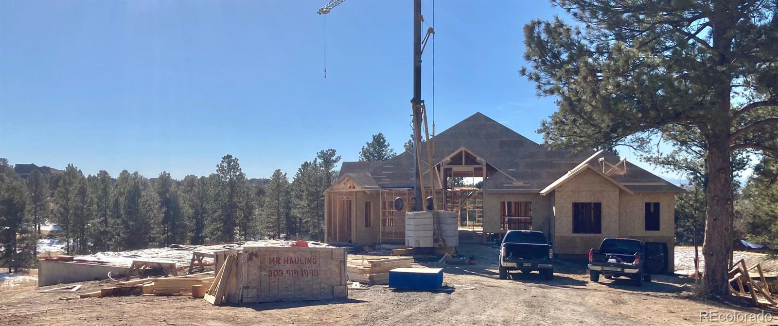 Stunning ranch walk-out on dynamic home site in The Retreat at the Timbers!  Under construction, to be completed Summer 2021!