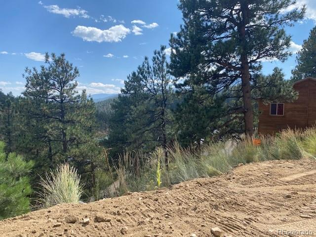 Lot Available at end of Bailey View Villas, look towards the Kenosha Range. Culdesac.. custom building site . Bailey water and sewer avail.  CO nat gas installed Ready to build  Active HOA