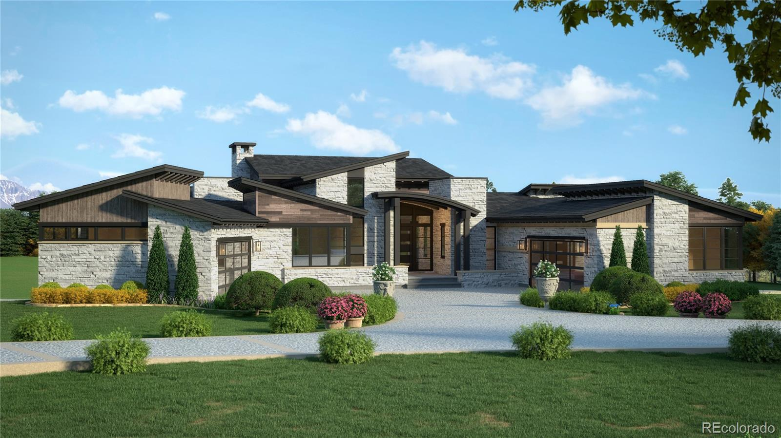 Amazing Sterling Custom Home, with privacy, views of Longs Peak and the course.  This treed lot offers the serenity you have been looking for in a custom home in a gated golf community within walking distance to the driving range and clubhouse at CGC.  Sterling Custom Homes creates award winning floorplans and craftsmanship beyond any you will find.  Colorado Golf Club is a nationally acclaimed golf experience with a champion golf course, par 3 course and world class clubhouse and pool facility.  CGC is a gated community located in Parker Colorado with easy access to DIA, Lone Tree, south business park and Downtown Denver and superior amenities minutes from your new custom home.   This home will create an explosion of excitement when you walk in the door.  Outstanding finishes and floor plan, and views of the mountains.  Main Floor Master with extensive entertaining space both indoor and outdoor living with the highest of quality both exterior and interior. Golf Cart Storage Area within the garage sizing about 19 x 11