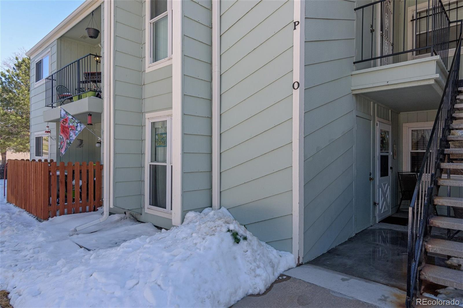 Cute & cozy ground level condo in amazing location! *  No steps!! * Short walk to Southglenn Mall, King Soopers, shoppes/restaurants, and Arapahoe High School * One-car detached garage (#63) with newer garage door * Newer windows throughout * Furnace & A/C 7 yr old * Microwave, dishwasher & disposal 1 yr old * All appliances stay, incl W & D * Upgraded bathrooms with new toilets, lights, vanity, tile floors * Eat-in space in kitchen * Wood-burning fireplace in LR * LOTS of storage with multiple closets, walk-ins * Spacious exterior storage closet by front door * Extra large LR area (wall can easily be added to make third BR) * Nicer view of green & landscaped common area.