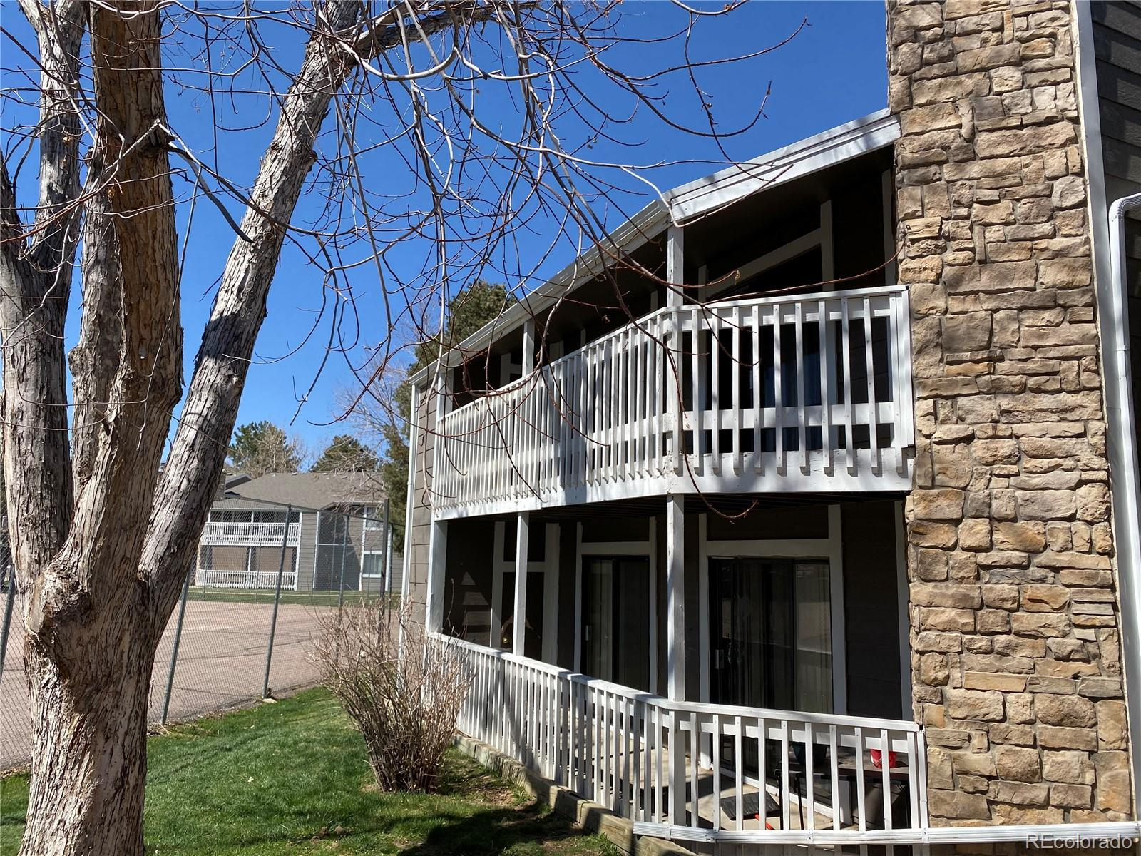 AS-IS 3 BEDROOM CONDOMINIUM, 2ND FLOOR UNIT WITH NOONE ABOVE, LARGE LIVING ROOM WITH STONE FIREPLACE, COVERED DECK IS ACCESSED FROM LIVING ROOM AND FROM ONE BEDROOM, ROOMY WITH 1177 SQUARE FEET, , COMMUNITY OUTDOOR POOL FOR SUMMER RECREATION, TWO RESERVED PARKING SPACES, CONDO IS IN OK CONDITION.  Condo is priced below market value. this is to allow new owners to remodel the unit to their likings. Washer and dryer are not included, which reflects in listing price. Take advantage of the savings to build your dream unit.