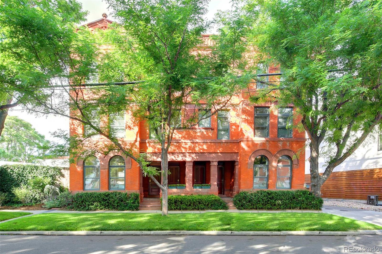 AUCTION: Bid October 22-28. Currently Listed for $4.85M. No Reserve. Showings Daily 1-4PM & by Appointment.  Own a piece of Denver architectural history at 816-818 25th Street. Renowned city architect Robert Roeschlaub built this Curtis Park estate. The stunning, detached garage is an AIA award-winning design and is a perfect backdrop to store your toys. This 130-year-old estate's flexible floorplan is completely restored and modernized, yet it offers plenty of opportunities to curate your vision. Currently offered as a duplex, the property was previously operating as a fourplex. Opportunities await at 816-818 25th Street as it could be transformed into a hospitality venture, or any other income-producing venues. Create a boutique workspace adjacent to your elegant residence, reconfigure all 10,000+sf into a luxurious home, or reconceive as a showpiece office destined to attract Denver's dynamic workforce. This is a true urban oasis, offering two tranquil courtyards imbued with a modern palette of stone, metal, concrete, and greenery. Soak up the clear mountain air in your private outdoor entertaining space or build a rooftop deck to enjoy mountain and city views.