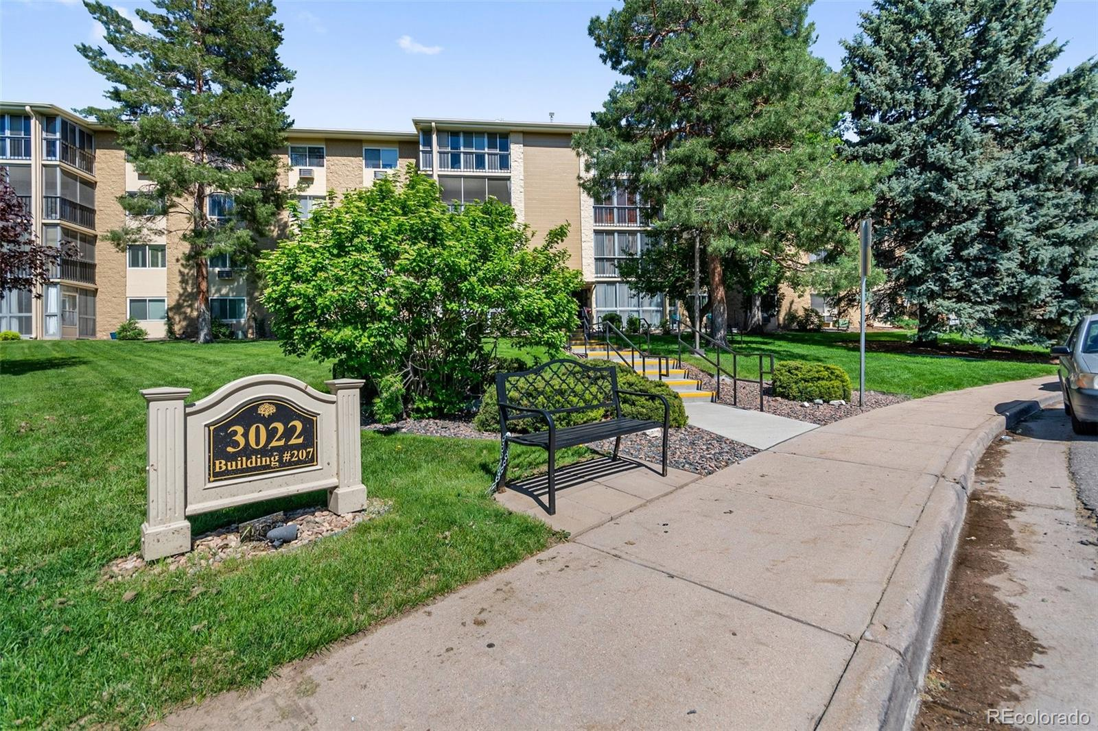 Amazing opportunity for the right buyer to own a piece of a respected and well maintained 55+ community. Located less than a mile from I-225, Nine Mile Light Rail Station, and Cherry Creek Reservoir. Enjoy the new club house which include Rendezvous Restaurant, where you can enjoy a great Sunday brunch, 9 hole executive golf course, fitness center, indoor/outdoor pools, tennis and pickle ball, event space, business center, resident trips and events, and lot's of different classes (included with HOA). Enjoy a maintenance-free lifestyle with 24/7 security (HOA). Easy access to the airport, downtown Denver and the Aurora Shopping Mall. Great condo, priced to sell, on the 4th floor steps from the elevator and close to your inside storage unit. Trash shoot accessible on floor and laundry is on the 2nd floor. Have direct access to building from the main street. 2 large bedrooms, 2 full bathrooms, open kitchen, closed in lanai with views of the mountains. Ceiling fans with remotes, AC units in all three rooms, great lighting throughout. Carpet throughout with linoleum in bathrooms and kitchen. Updated stove,  refrigerator (indoor ice/water), microwave, dishwasher, new sink and faucet, large storage room or craft room. Reserved covered parking garage enter ground level right across from main building entrance and on site secured RV storage available.