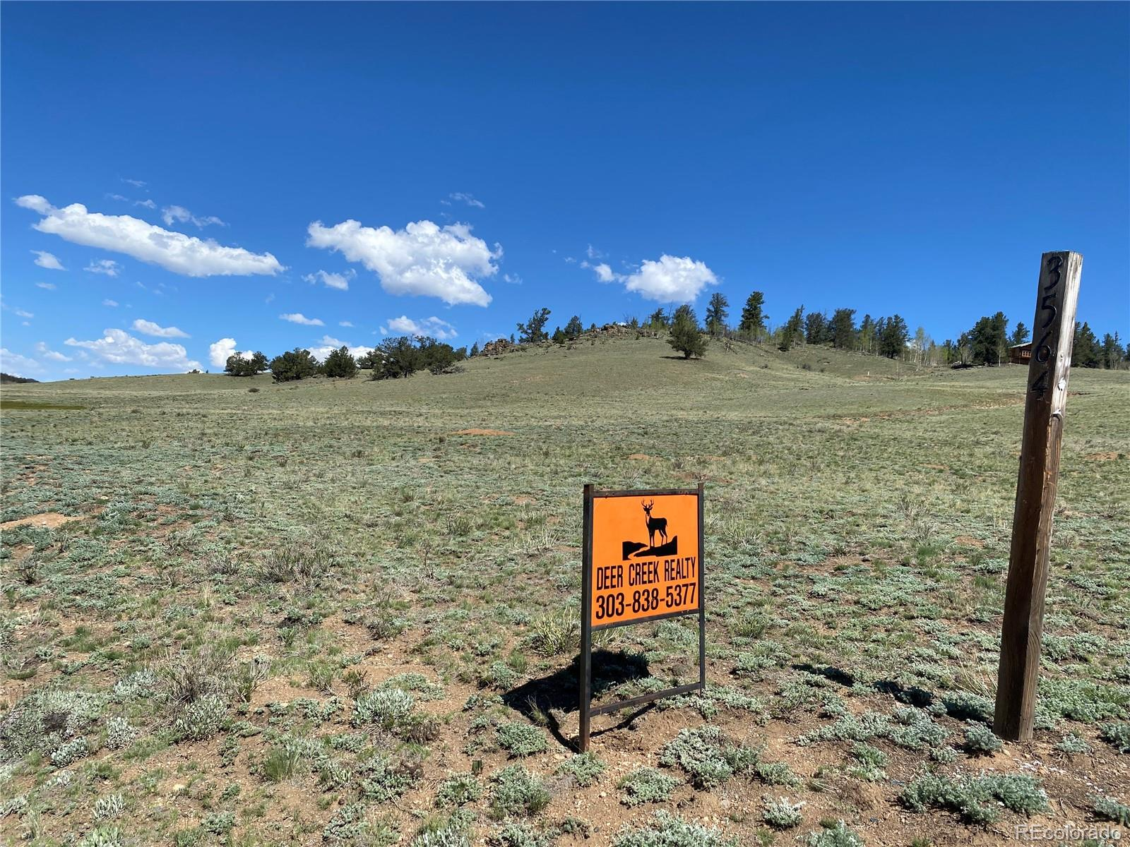 Love the Sunshine!   YOur piece of Colorado Great property for cloud  and star gazing far reaching views near  historic  Como or Fairplay , the Pike National Forest The well is drilled and waiting for it's mountain home design.  Gentle sloping older driveway installed