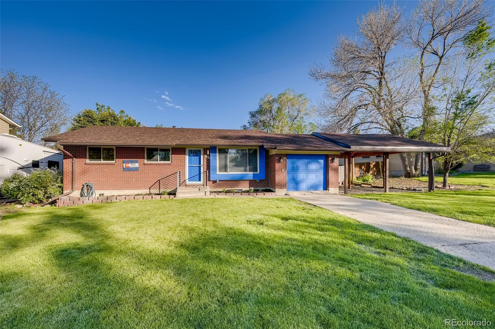 Amazing location close to everything but tucked into a quiet neighborhood. Close proximity to Clement Park, Columbine Library, Lilley Gulch Rec Center and great trail system. Southwest Plaza Mall and 3 fitness centers within 2 mile radius.  Spacious ranch flooplan features a gas fireplace and hardwood floors. Large finished basement with additional bedroom and bathroom plus plenty of flex space (home office, 2nd living room, craft area and/or home gym) Spacious backyard and 2 stall carport plus an additional garage. New roof 2016, new hot water heater, new wall/attic insulation, and new main sewer line. Radon Mitigation system already installed!  Move in and make it your new home with only a few personalized touches!