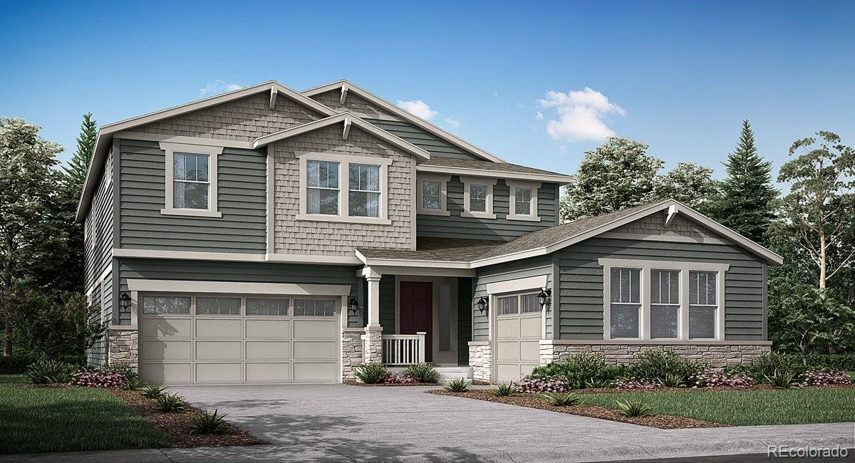 Available October 2021! Located in the brand new WildRose community, this stunning new Aspen 2-story features, 5 beds (4 upper and 1 main), 4 baths (3 upper & 1 main),  laundry, great room, kitchen, unfinished basement for your future expansion, 2 + 1 car garages and more. Beautiful finishes and upgrades throughout.  Lennar provides the latest in energy efficiency and state of the art technology with several fabulous floorplans to choose from. Energy efficiency, and technology seamlessly blended with luxury to make your new house a home. WildRose offers single family homes for every lifestyle. Close to dining, shopping, entertainment and other amenities.  Welcome Home!
