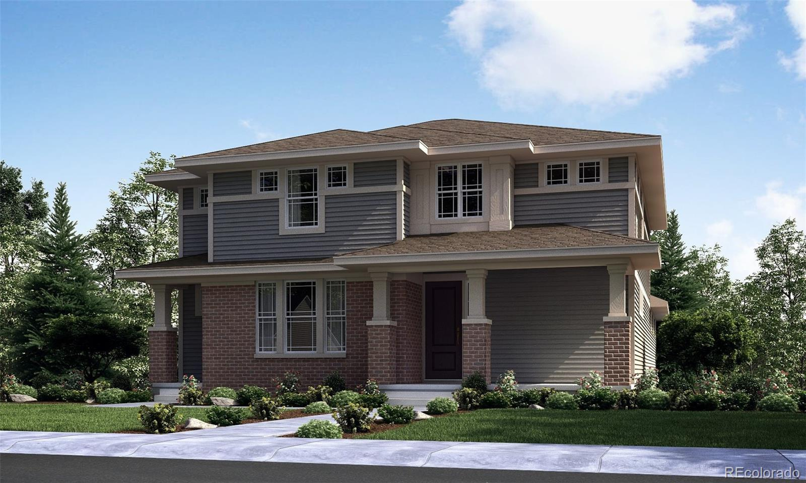 Available January 2022! Located on a southern facing lot, this gorgeous Revelation 2-story in Central Park features 4 beds (3 upper / 1 main NexGen), 3.5 baths (2 upper / 1 main / 1 NexGen bath), great room (main), kitchen (main), kitchenette (NexGen), formal dining room (main), living room (NexGen), unfinished basement and 3 car garage. Beautiful upgrades and finishes throughout. Central Park is a great Lennar community providing the best of Colorado living with all the latest technology. Lennar provides the latest in energy efficiency & state of the art technology with several fabulous floorplans to choose from. Energy efficiency, and technology/connectivity seamlessly blended with luxury to make your new house a home. What some builders consider high-end upgrades, Lennar makes a standard inclusion. You will not be disappointed. This community offers homes for every lifestyle. Close to dining, shopping, entertainment and other amenities. Easy commute to DIA, E-470, Downtown Denver & beyond. Numerous parks and miles of trails to explore - plenty to see and do. Still time to make design selections.
