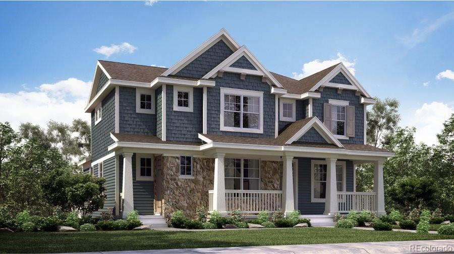 Available November 2021! The Legacy model 2-story home features 4 beds (3 upper / 1 main NexGen), 4.5 baths (3 upper / 1 main / 1 NexGen bath), great room (main), kitchen (main), kitchenette (NexGen), formal dining room (main), living room (NexGen), unfinished basement and 3 car garage. Beautiful upgrades and finishes throughout. Central Park is a great Lennar community providing the best of Colorado living with all the latest technology. Lennar provides the latest in energy efficiency & state of the art technology with several fabulous floorplans to choose from. Energy efficiency, and technology/connectivity seamlessly blended with luxury to make your new house a home. What some builders consider high-end upgrades, Lennar makes a standard inclusion. You will not be disappointed. This community offers homes for every lifestyle. Close to dining, shopping, entertainment and other amenities. Easy commute to DIA, E-470, Downtown Denver & beyond. Numerous parks and miles of trails to explore - plenty to see and do. Property is sold as-is.  Staging items are not included in the purchase price but are available for a separate purchase of $20,000 .