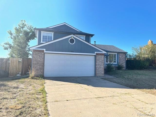 Great investment. Cut De Sac Location. 3 bed tri level, 2 car garage with large front and back yard. Needs TLC bring your buyers...a little sweat equity. easy and convenient to 1-25, e-470, shopping, parks, fairgrounds, fields and more!Fast closing available!