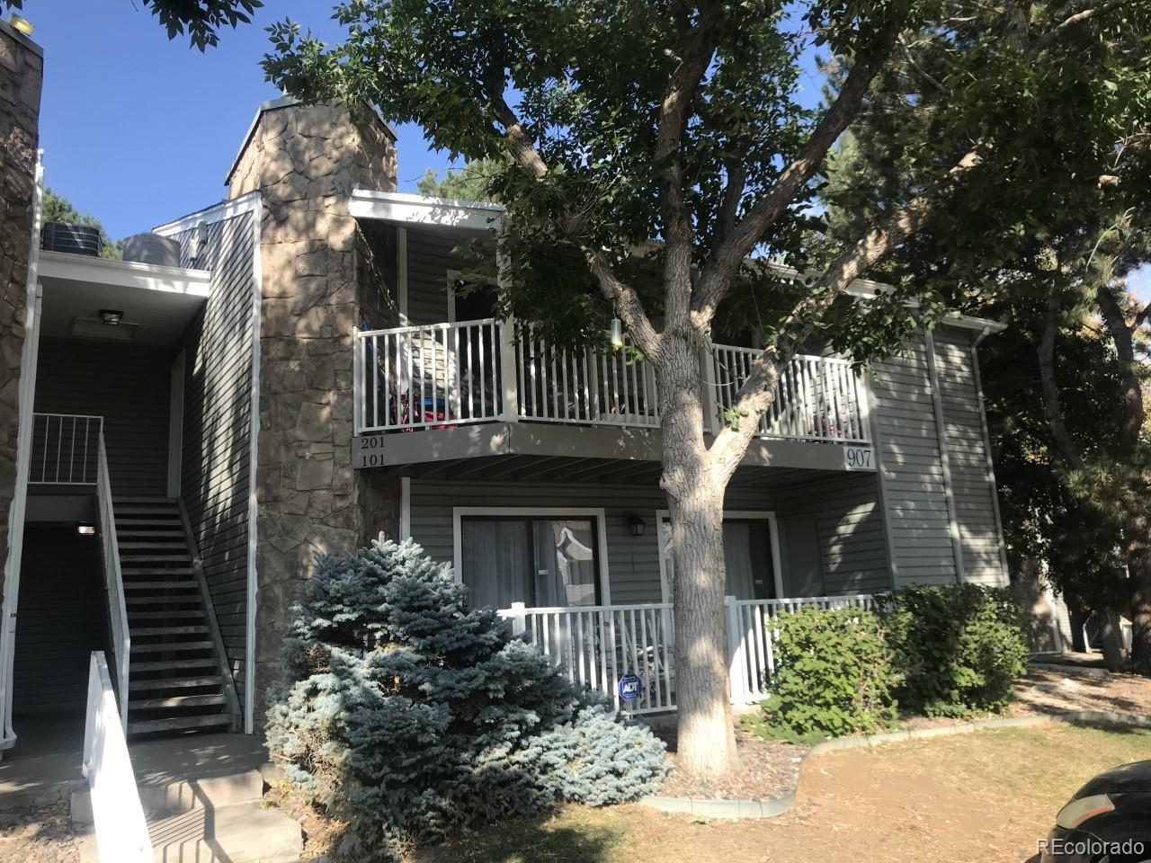 Showings to start Monday October 4th.  2 bedroom/2 full bathroom 2nd floor condo in 2 story building. Vaulted ceiling, access to covered deck from living room + bedroom 2. Washer/dyer and all appliances included. Currently rented thru December 2021 to Section 8 tenant who would stay if buyer desires. Call for details. 1 reserved parking space.