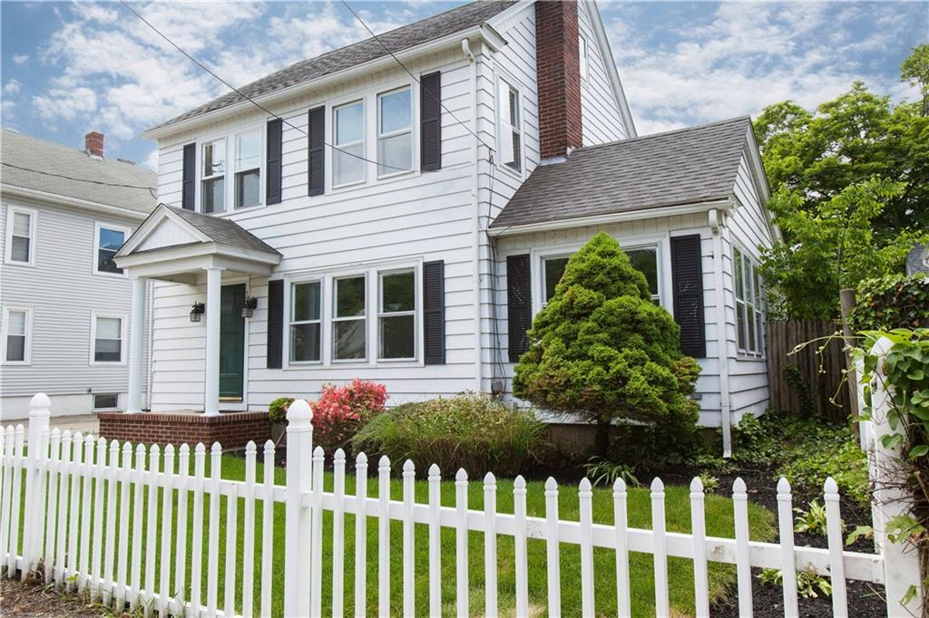 Beautiful colonial home with a New kitchen and 1.5 bathrooms. Private yard with a enclosed patio and sunroom. Lots of updates including roof, baths, kitchen, refinished hardwoods and more. One car Garage and a built-in brick oven in the yard. A must see it the Pinecrest neighborhood.