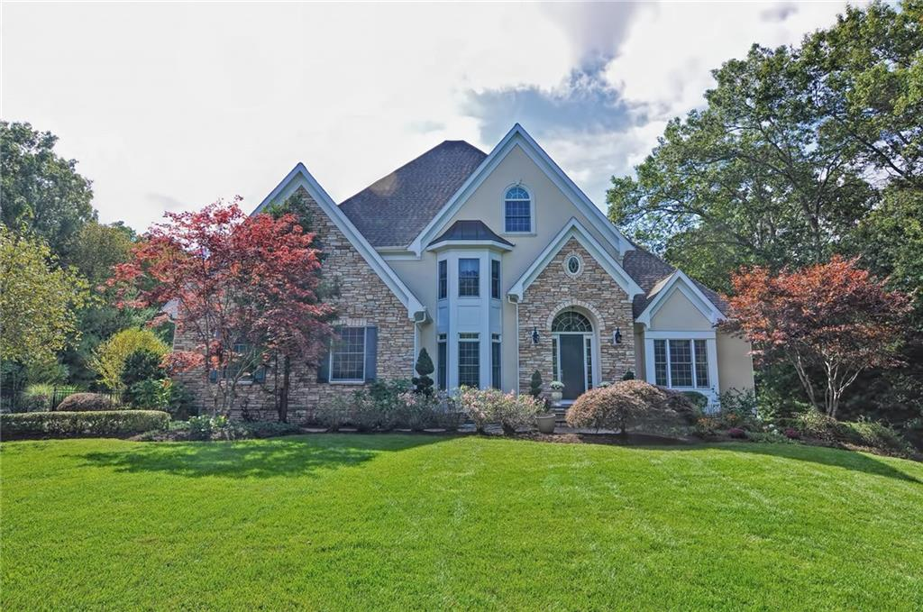 Extraordinary Architecture & Luxurious Details Throughout this Spectacular Resort-Like Property Located on 3 Private Acres in One of Rehoboth's Highly Sought After Neighborhoods! Featuring a Stunning 2-Story Foyer, Home Office w/Tray Ceiling, Formal Dining Rm w/Wainscoting, Double-Sided Fireplace Complimenting Vaulted Living Rm & Coffered Family Rm! Jaw Dropping Cook's Kitchen w/ Granite & Woodmode Cabinets, High-End Stainless Appliances, Pantry, Island & Peninsula w/Seating! Luxurious Master w/Dramatic Tray Ceiling, Gas Fireplace & 2 Walk-Ins! Elegant Master Bath w/Octagonal Vaulted Ceiling, Air Jetted Tub, Tile Steam Shower w/Seating, Multiple Shower Heads & Private Balcony! 2,242 sf. Finished Walkout Lower Includes Gym, Guest Suite, Pool Lounge w/Bath, Changing Room, Fireplace & Wet Bar! The Exceptional & Private Backyard Oasis Offers Custom Shaped Inground Heated Pool w/Slide & Diving Board, Stone Hot Tub, Pavered Patio, Firepit, & Swing Set Area! Truly an Entertainer's Dream!