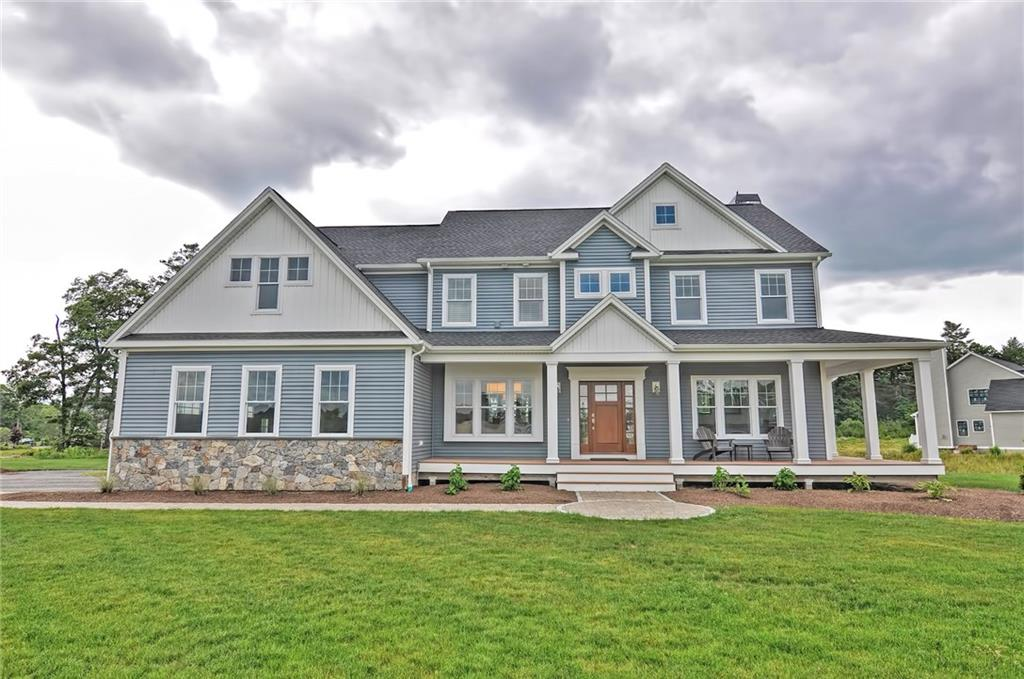 Why Wait to Build? Be the Proud New Owner of This Home, Custom Built in 2016! Enter Through the Artisan Front Door Into the Two Story Foyer With Views of the Main Level and Rear Yard! Pass the Dining Rm and the Den on Your Way to the Massive Open Kitchen and Living Area. The Kitchen Boasts Ample Counter Space and Seating For 6 at The Island! In the Spacious Living Area You Can Relax by the Stone Fire Place at Night or Enjoy the Sun Filled Space During the Day! High End Appliances, White Oak Floors, Soft Close Cabinetry, Flowing Granite and Herringbone Tile Backsplash Finish the Space. Off the Kitchen is the Mudrm With Built-In Bench, Walk-In Pntry, and Lavette. Enormous Master Suite With Sitting Area Houses an Ensuite Bath with Heated Slate Floors, Glass Tile Shower and Walk-In Closet. 3 Large Bedrms With Generous Closet Space, Laundry Room, Full Bath with Recycled Glass Counters and Loft Area Finish Out the Upr Level. The Lwr Level Has a Large Open Space Perfect For a Playroom or Entertaining!